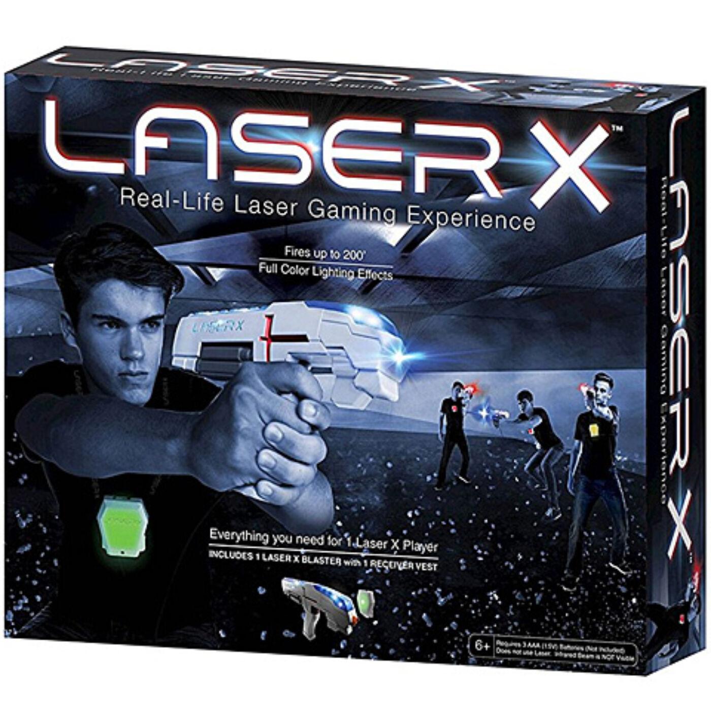 Laser X infravörös pisztoly