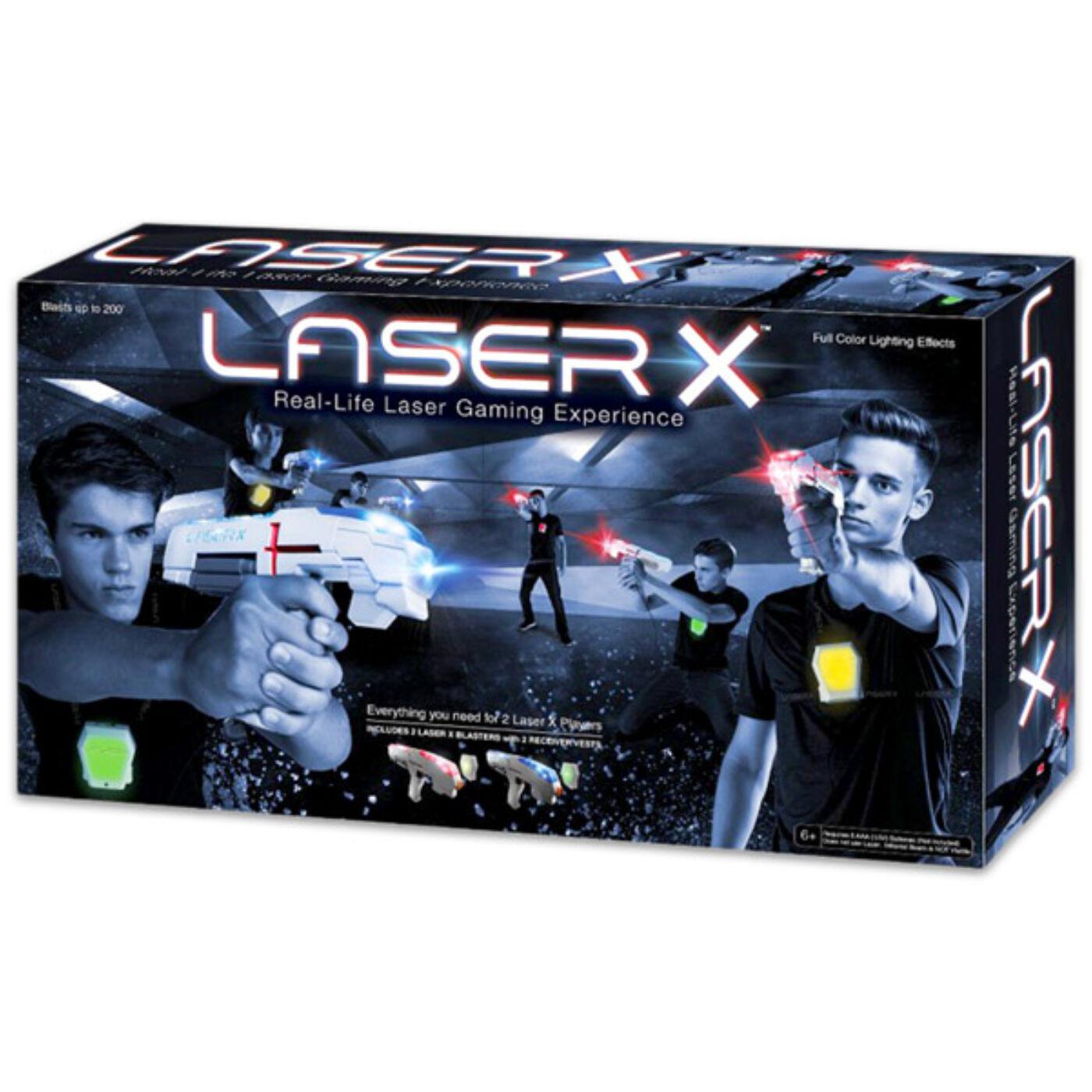 Laser X dupla csomag