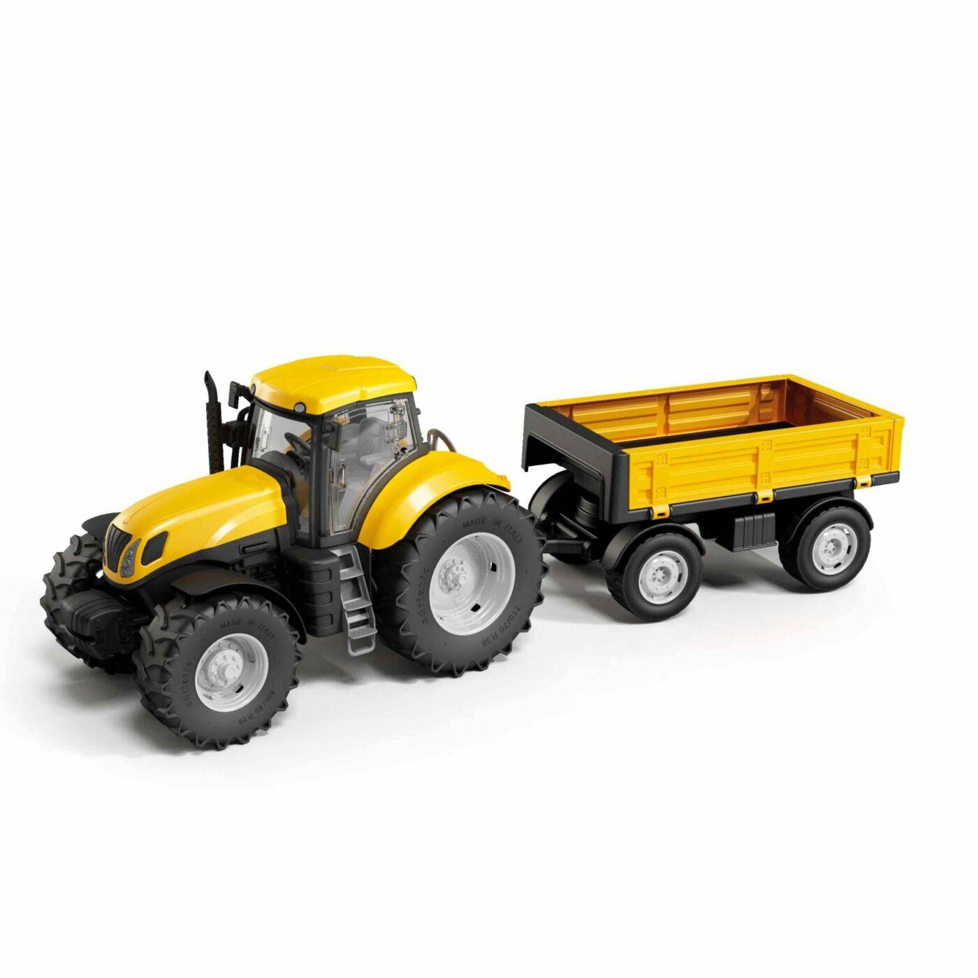 Traktor utánfutóval