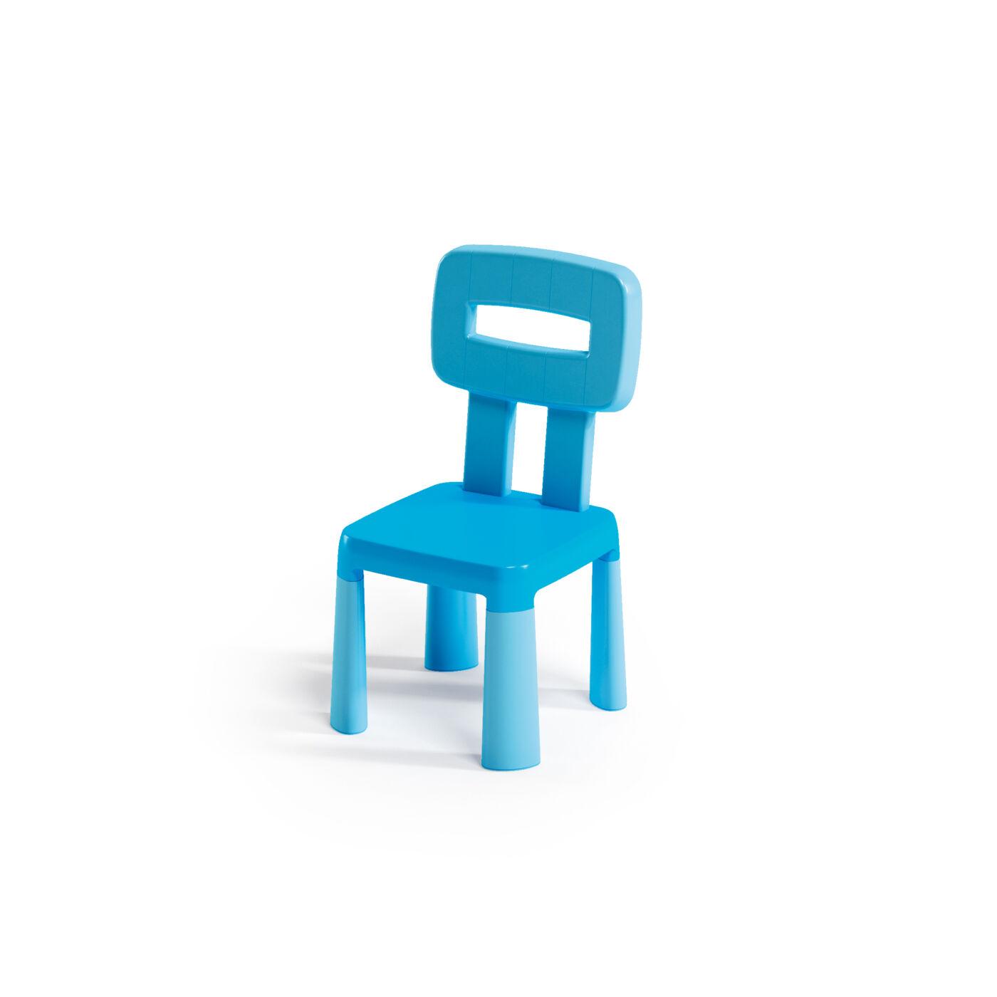 Műanyag gyermekszék kék