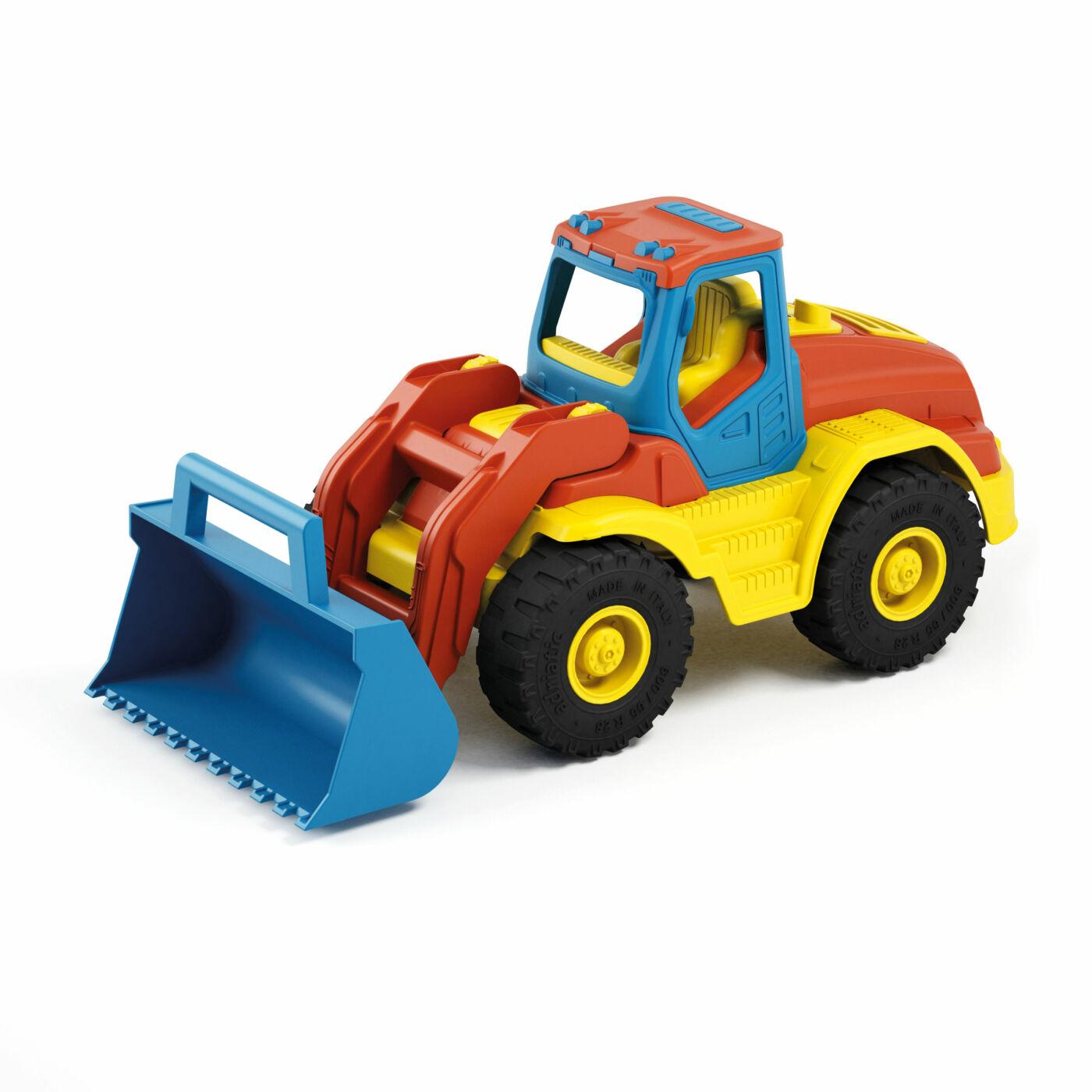 Traktor színes