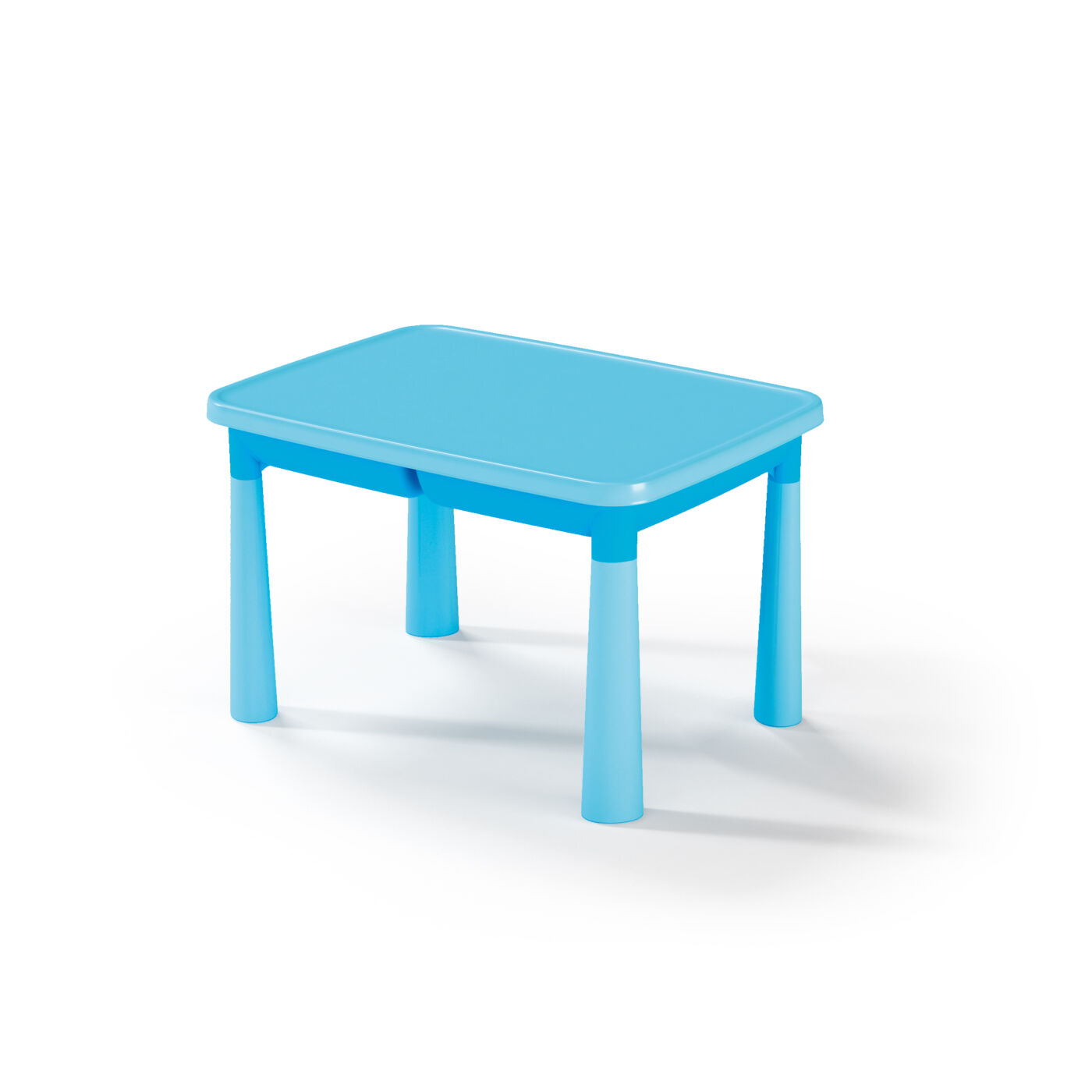 Műanyag gyermekasztal Kék