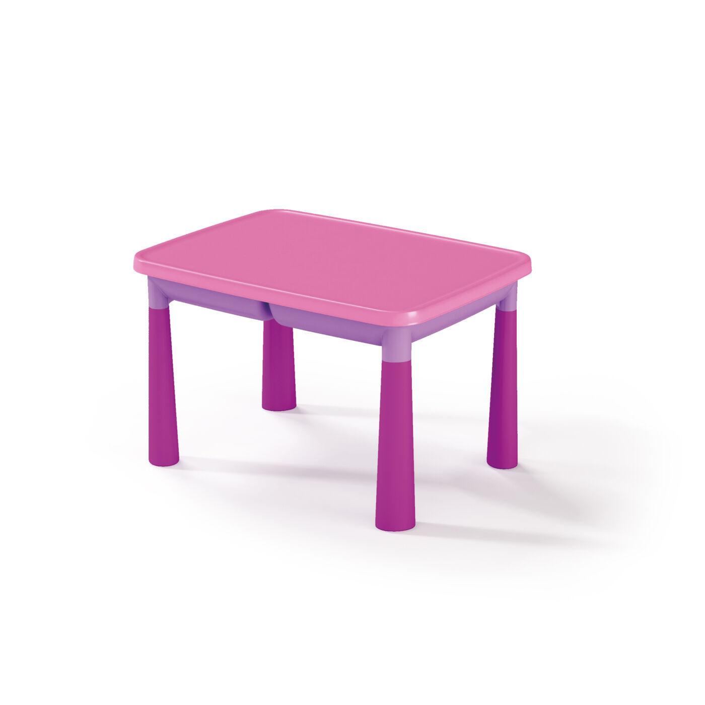 Műanyag gyermekasztal Fukszia