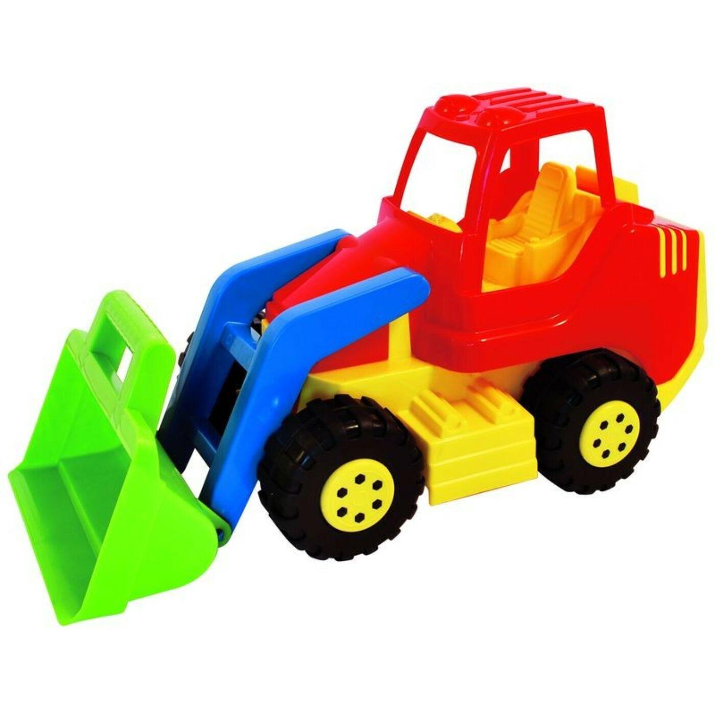 Műanyag traktor