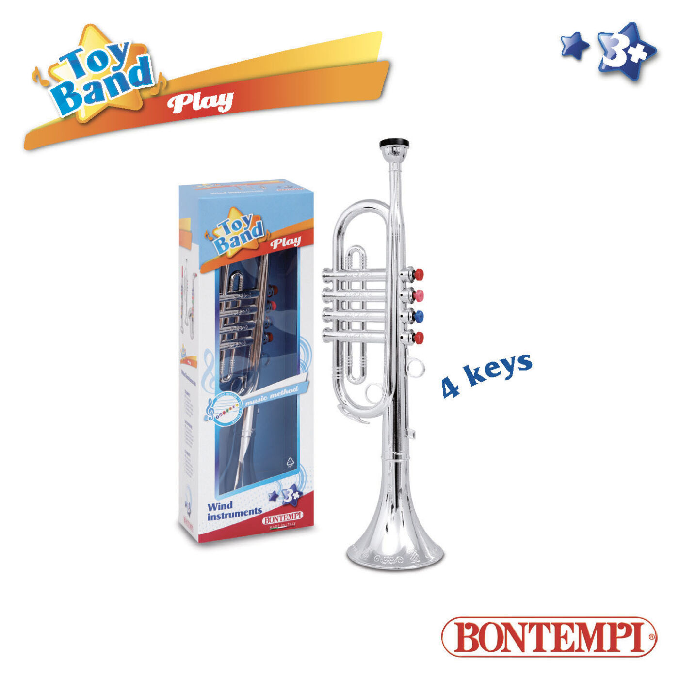 Bontempi Dobozos trombita nagy