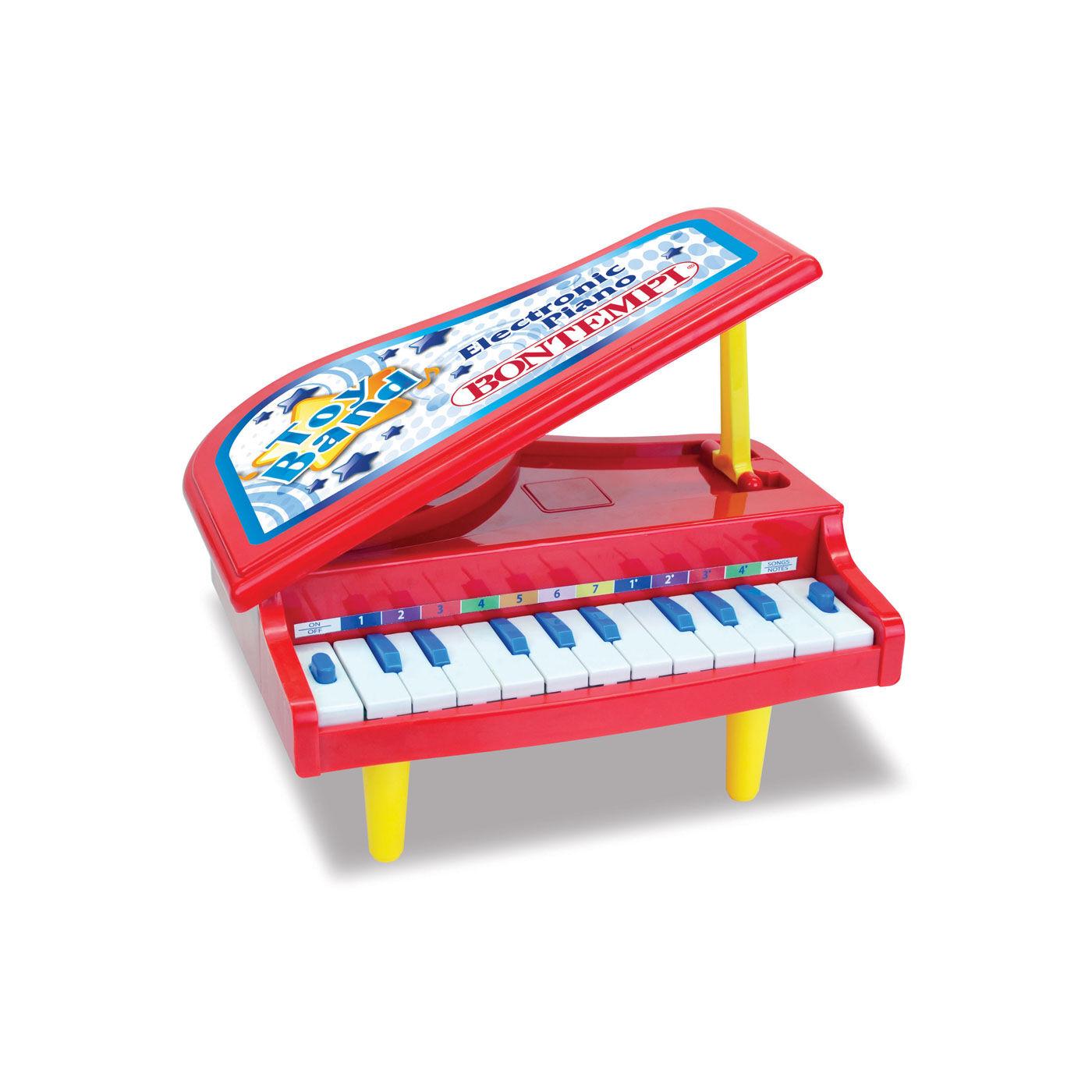 Bontempi asztali zongora piros