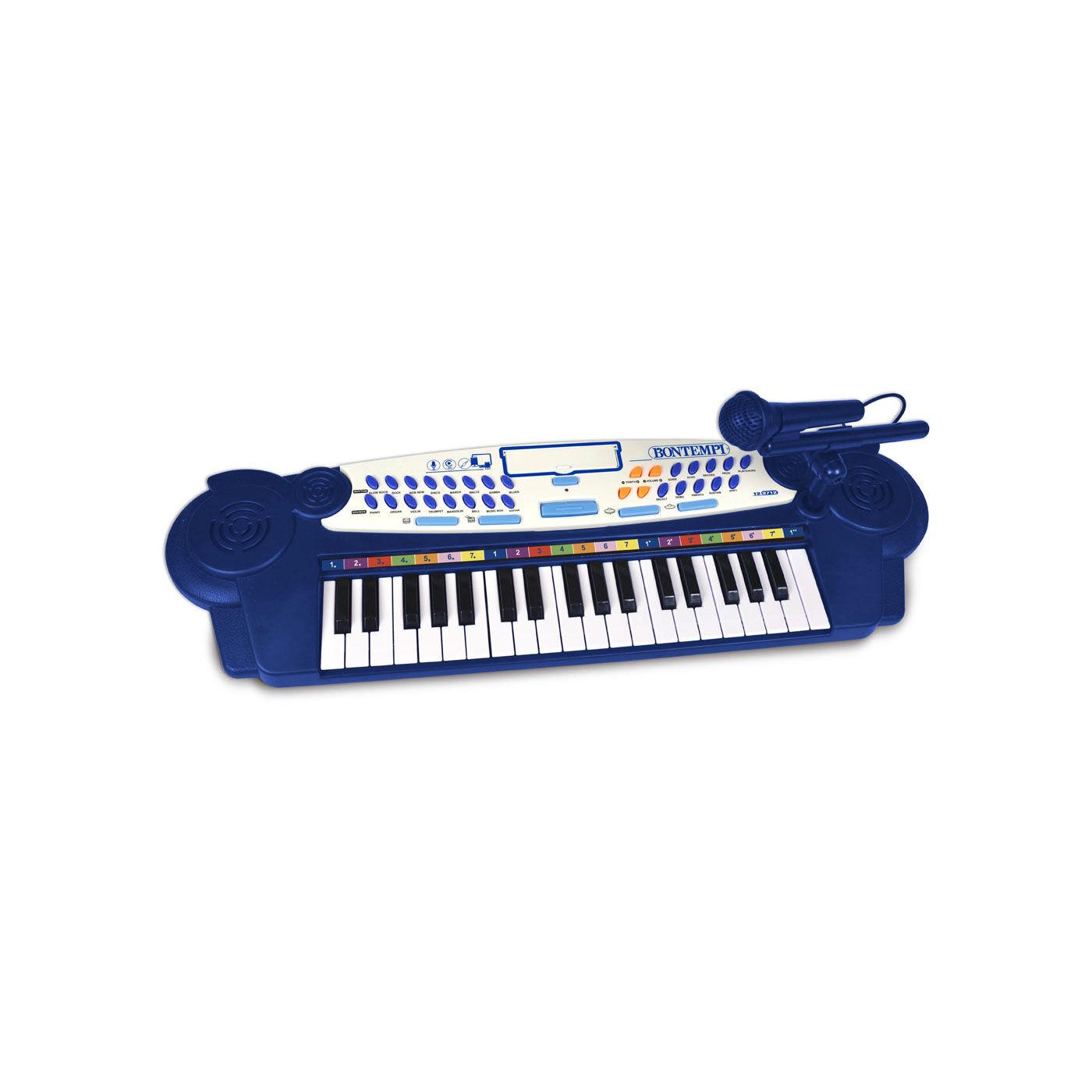 Bontempi elektromos szintetizátor kék