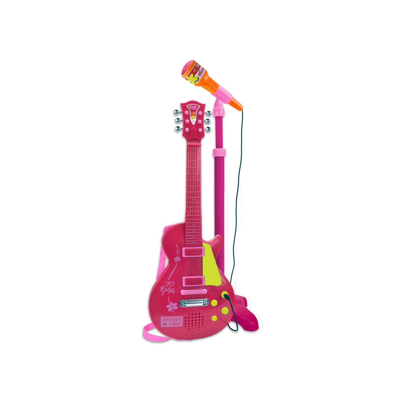 Bontempi rock gitár pink