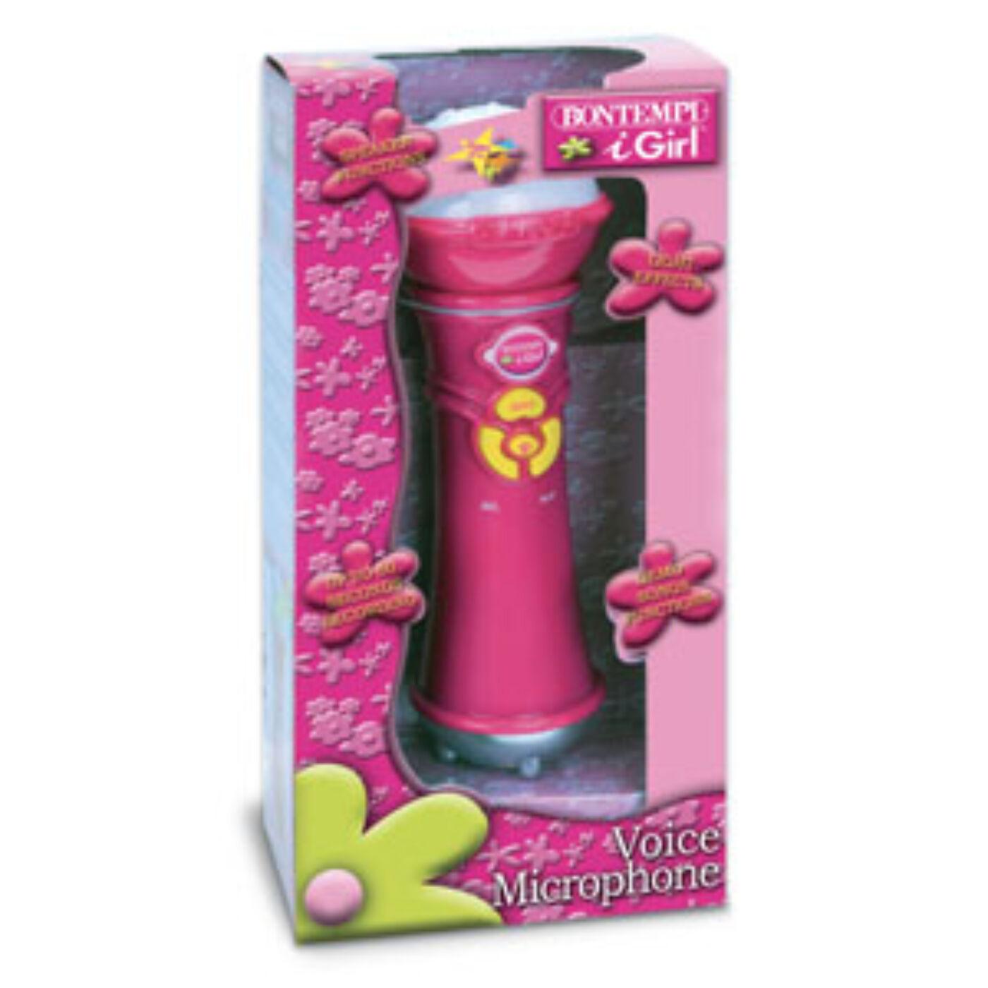 Bontempi Karaoke mikrofon pink