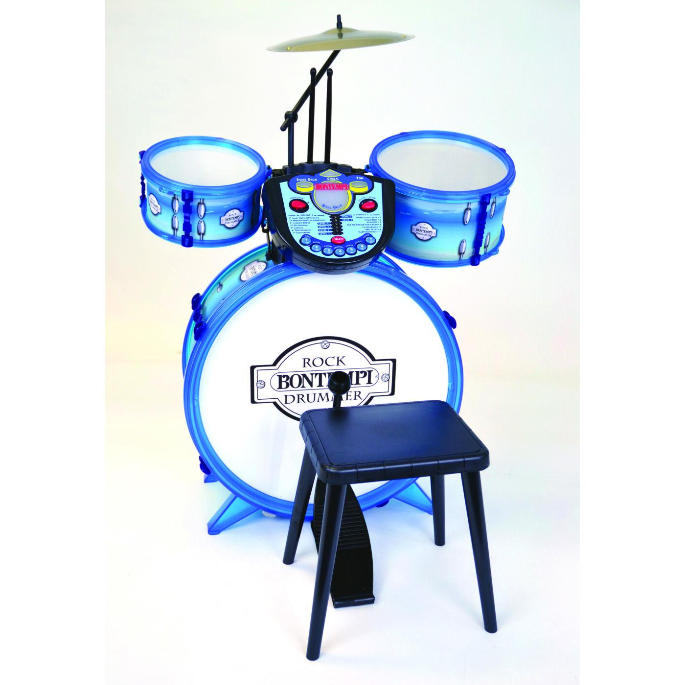 Bontempi Dob szett dob géppel kék