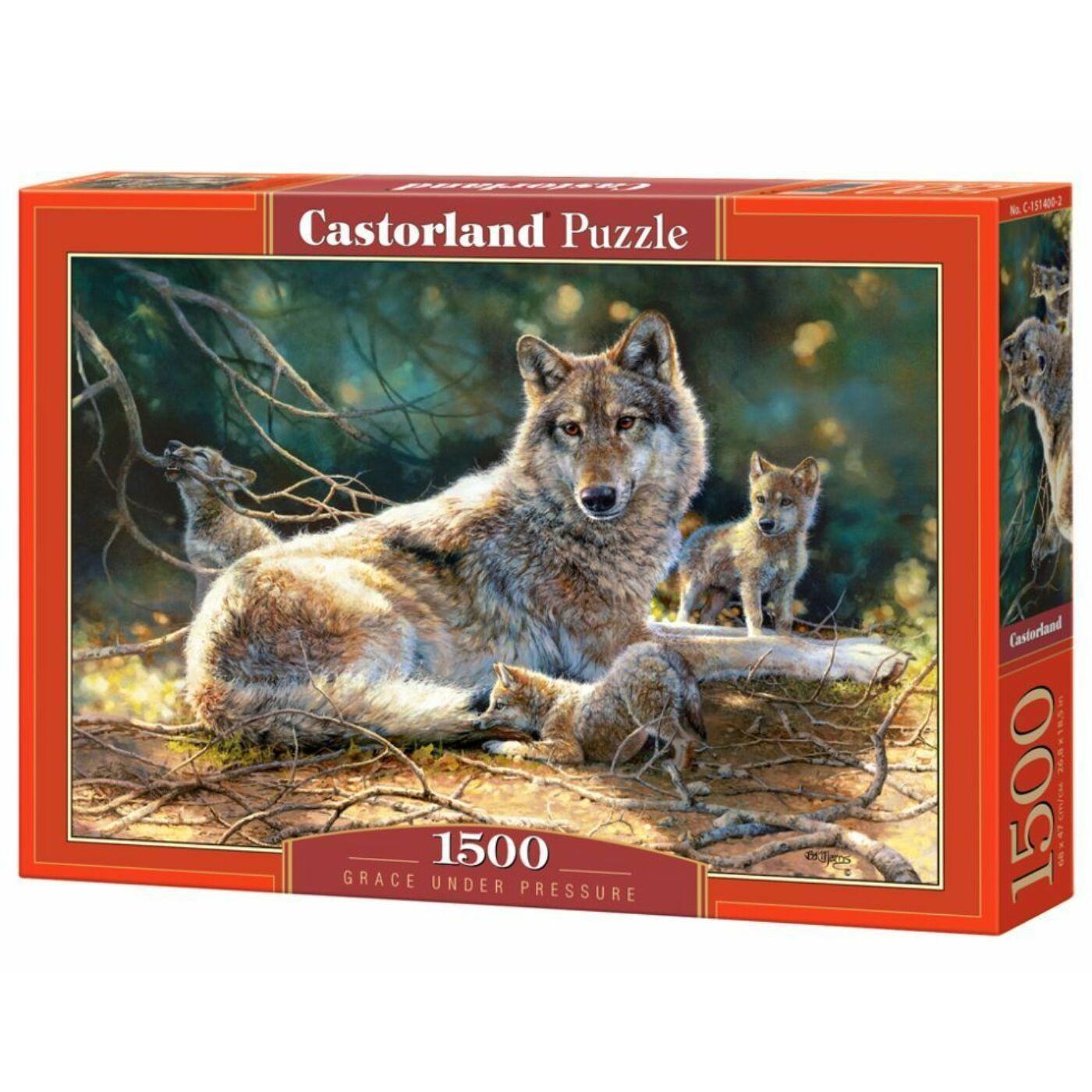 1500 db-os Castorland kirakó - Bájos felelősség