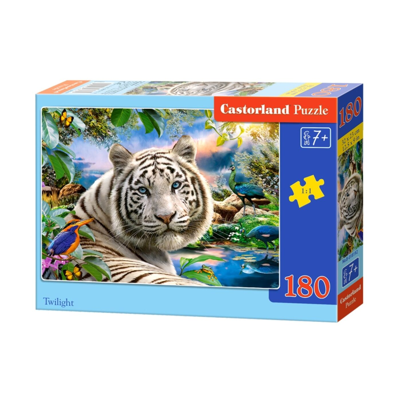 180 db-os Castorland puzzle - Alkonyat