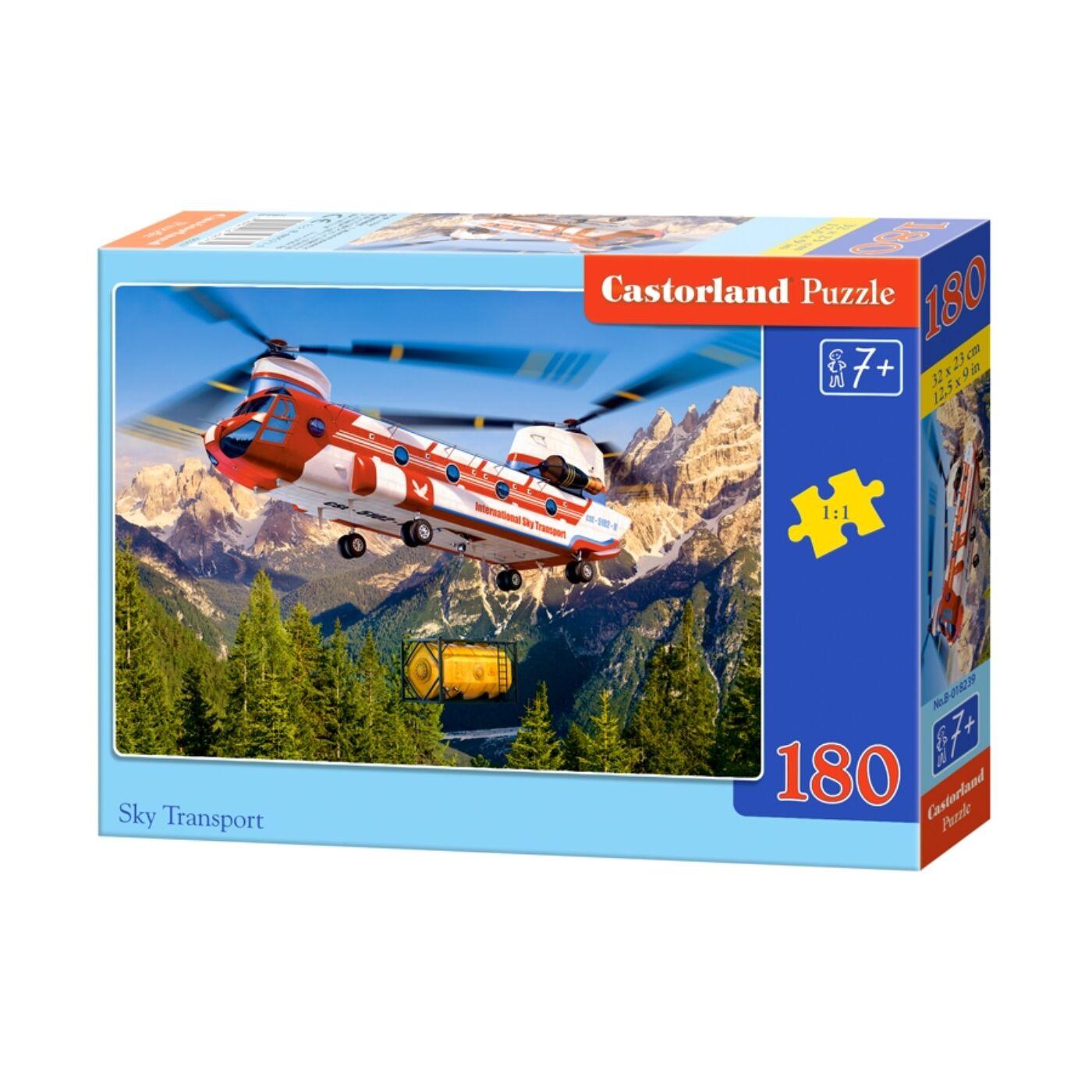 180 db-os Castorland puzzle - Légi fuvar