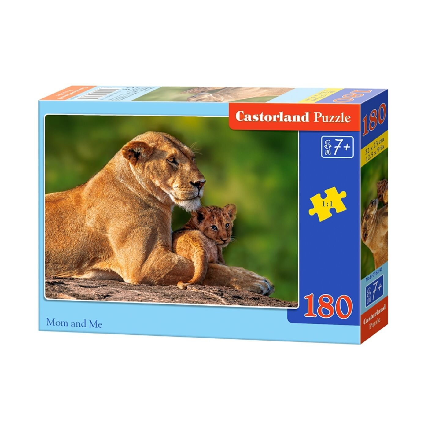 180 db-os Castorland puzzle - Anya és én