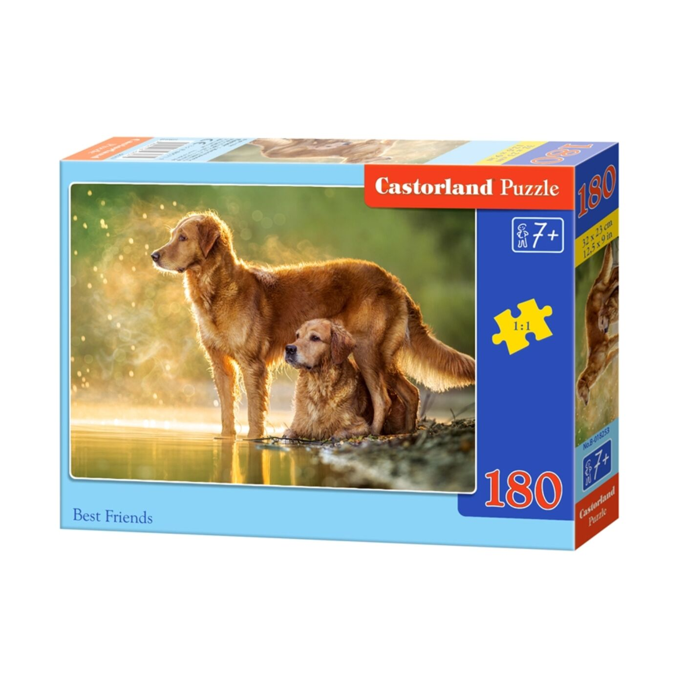 180 db-os Castorland puzzle - Legjobb barátok