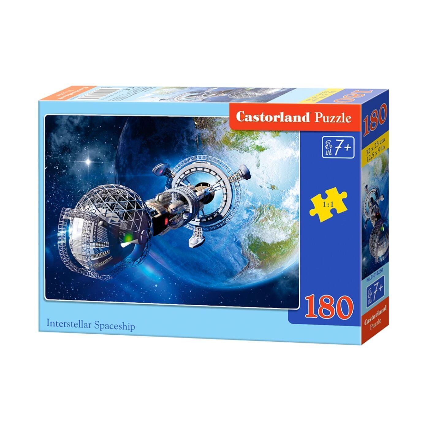 180 db-os Castorland puzzle - Csillagközi űrhajó
