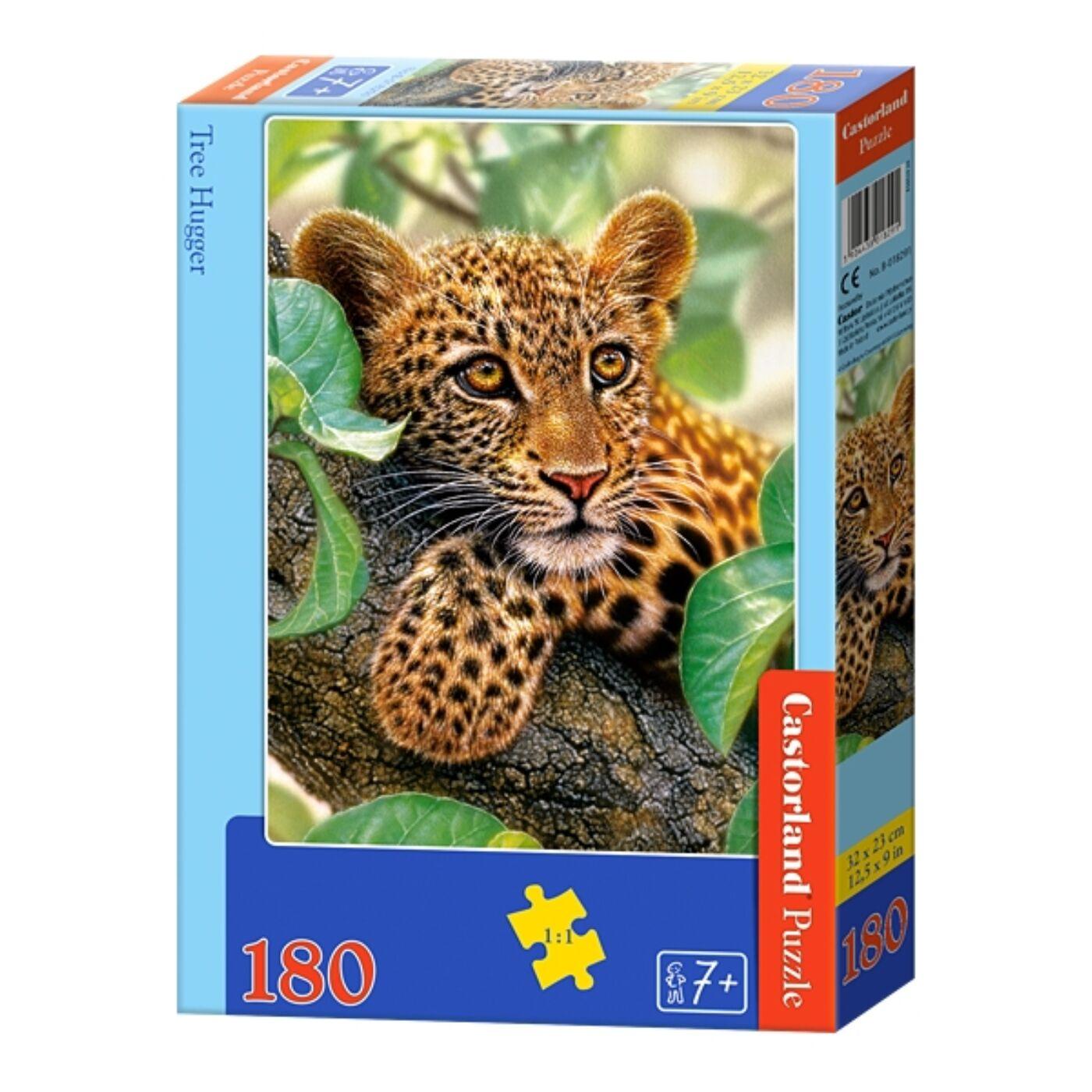 180 db-os Castorland puzzle - A fa ölelésében