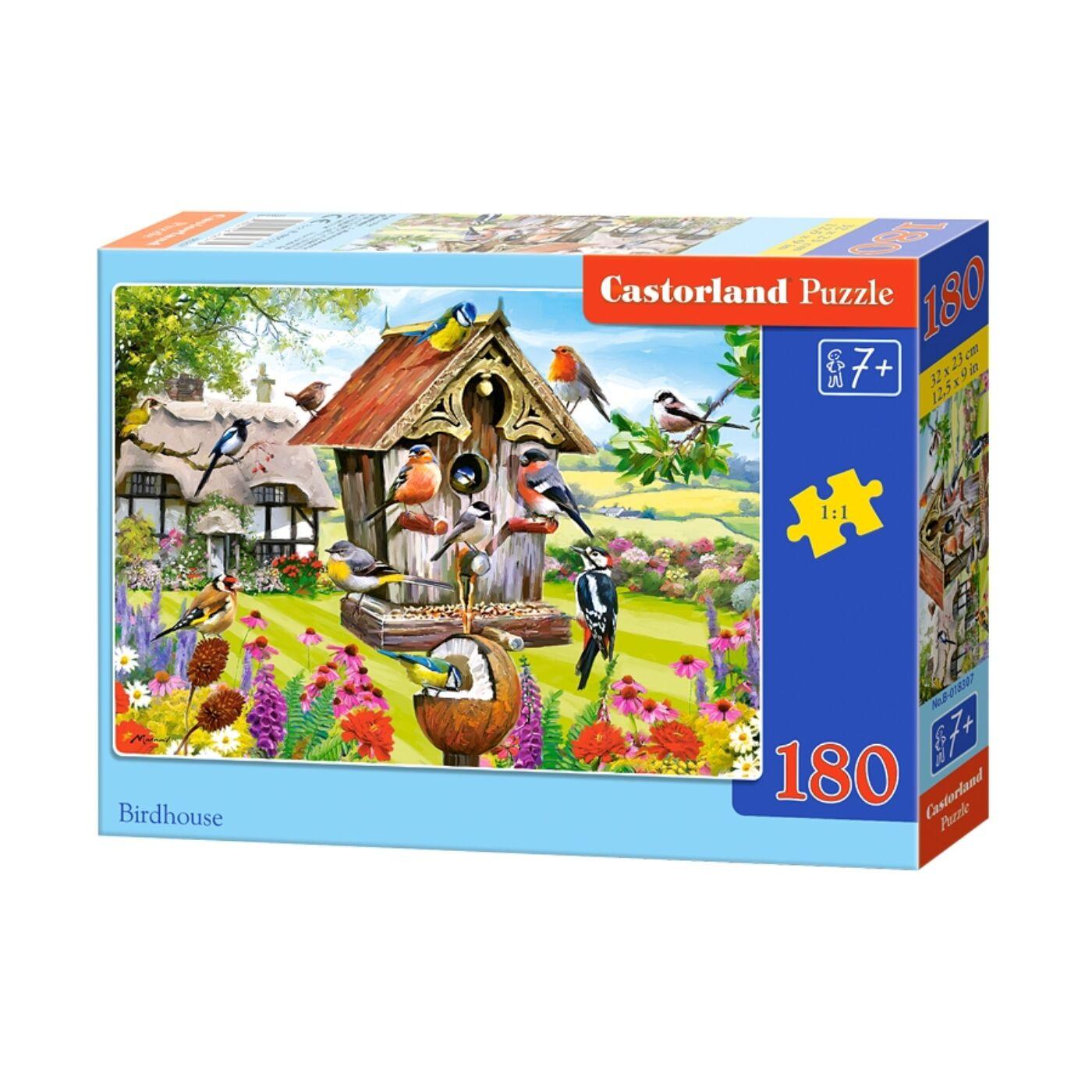 180 db-os Castorland puzzle - Madárház