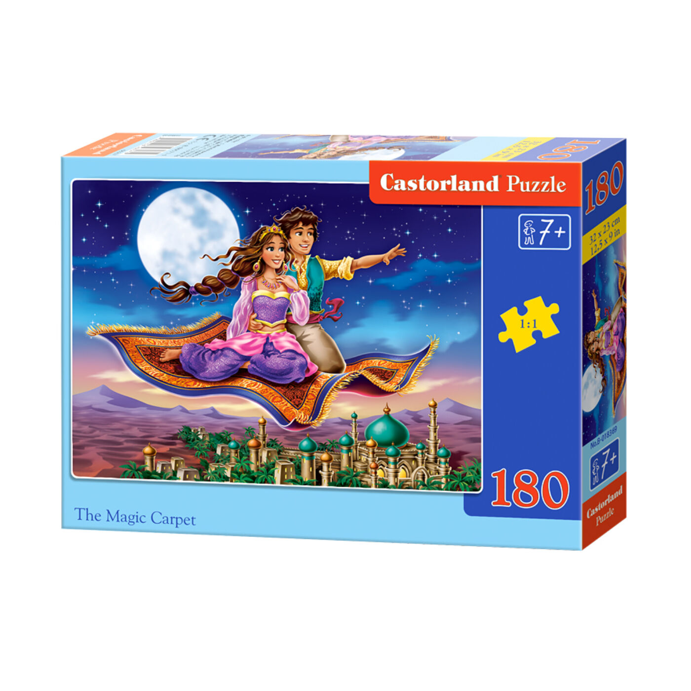 180 db-os Castorland puzzle - A varázs szőnyeg