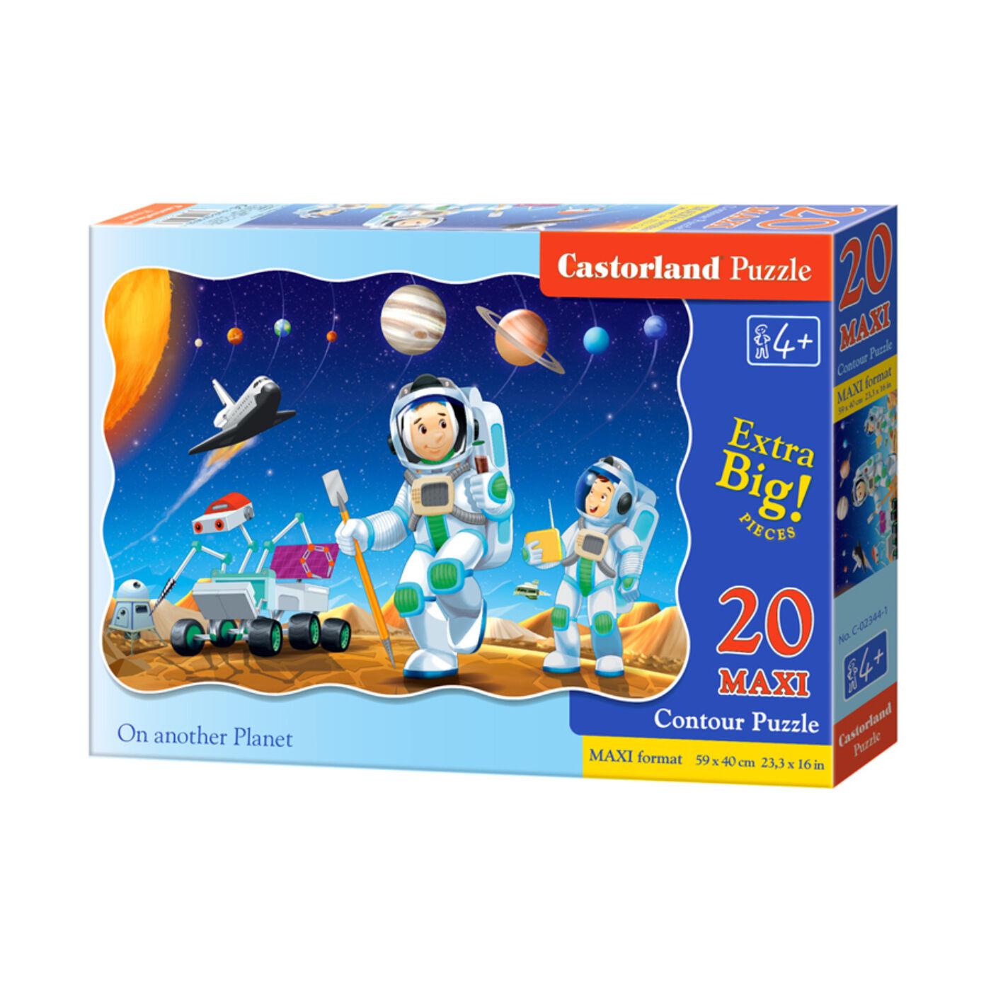 20 db-os maxi puzzle - Egy másik bolygón