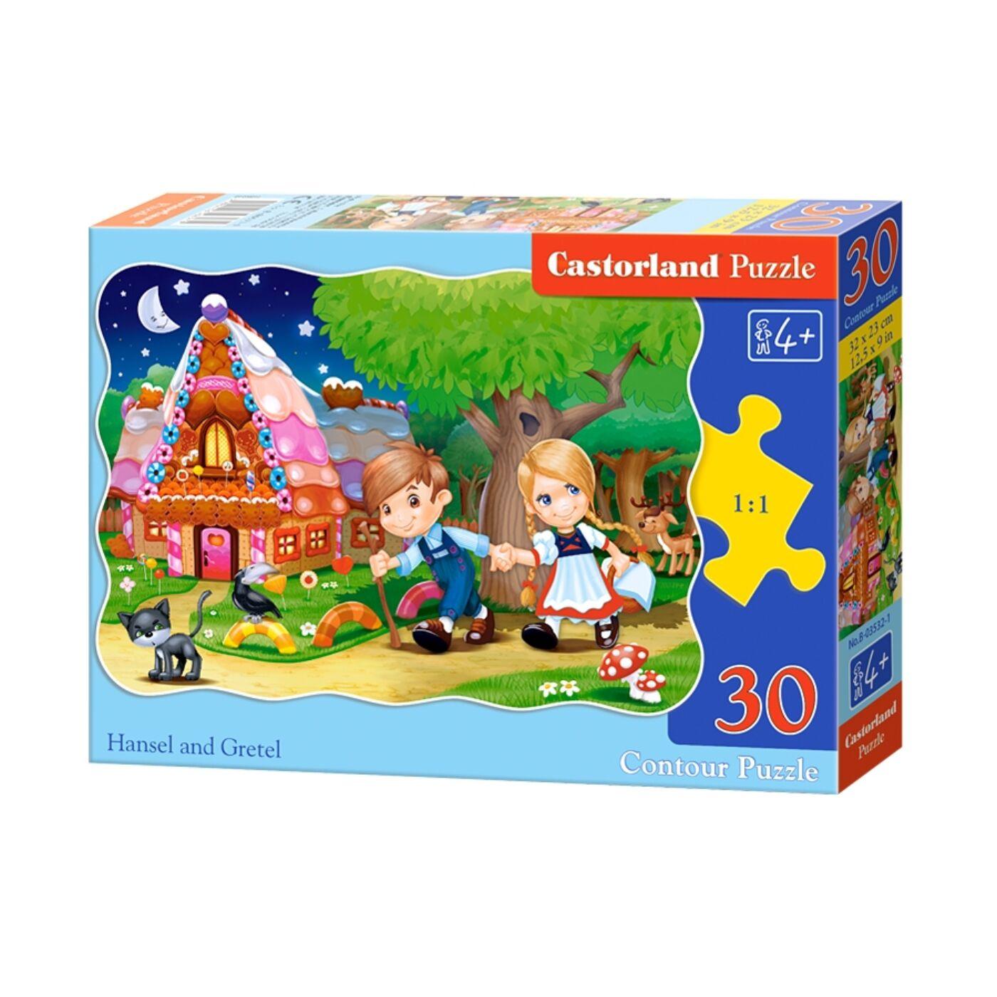 30 db-os puzzle - Jancsi és Juliska