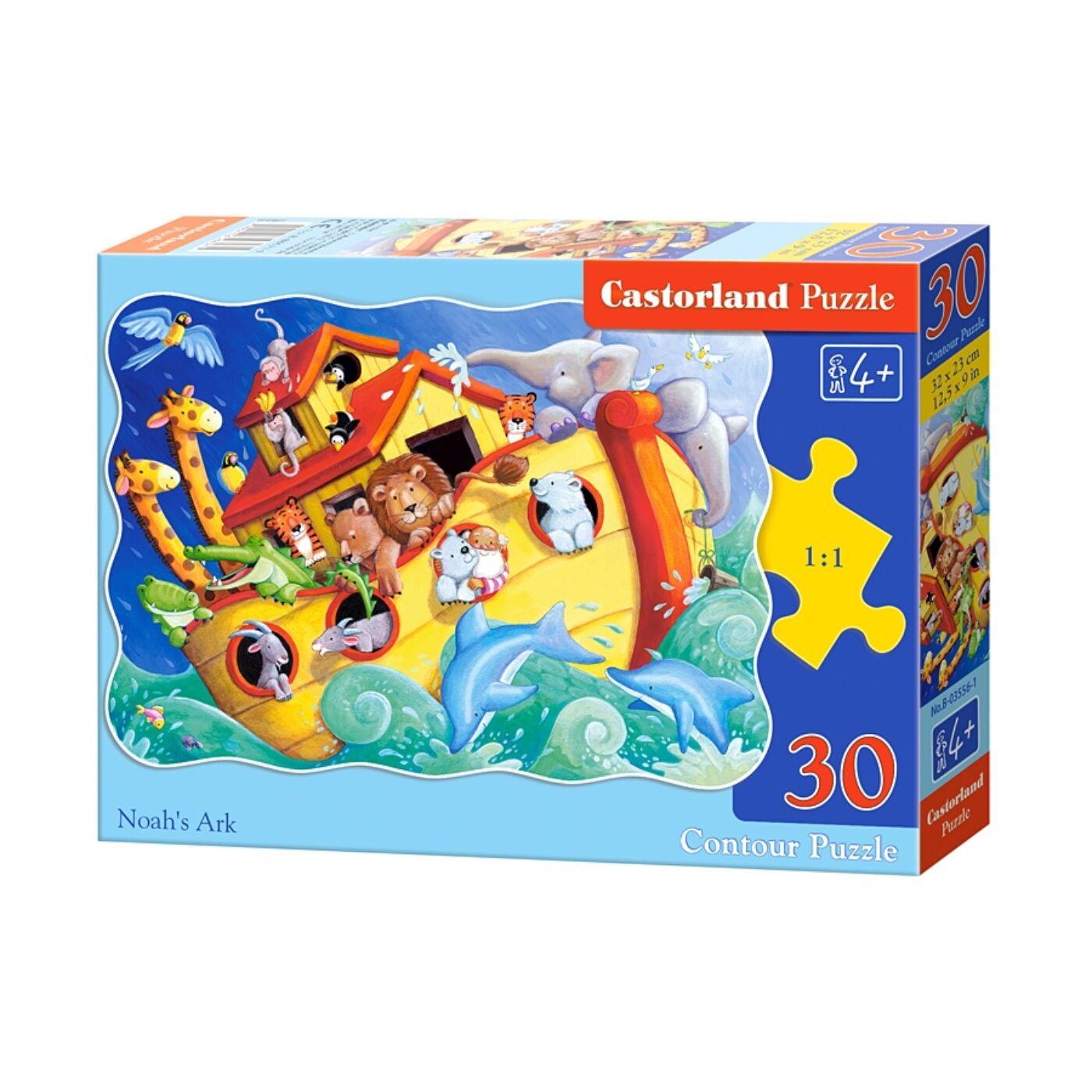 30 db-os puzzle - Noé bárkája