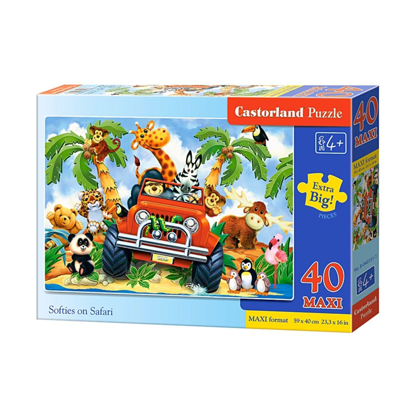 40 db-os Maxi puzzle – Szafari
