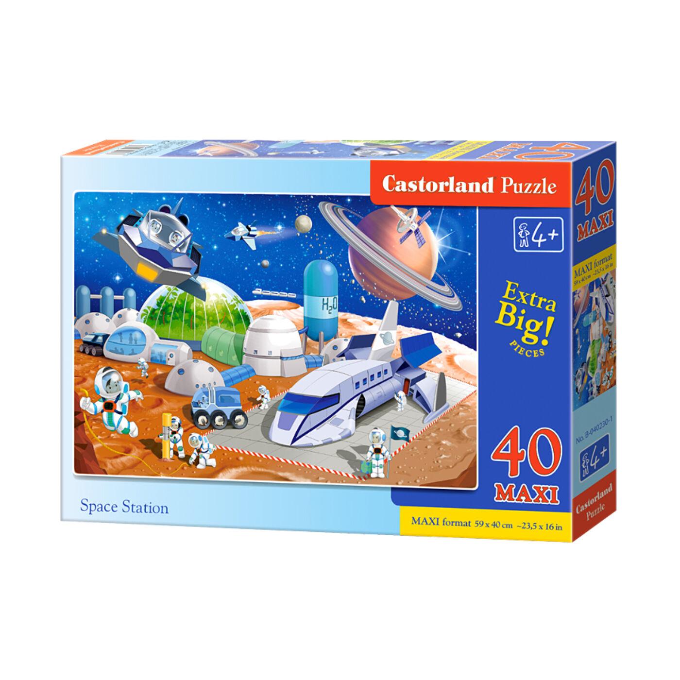 40 db-os Maxi puzzle – Űrállomás