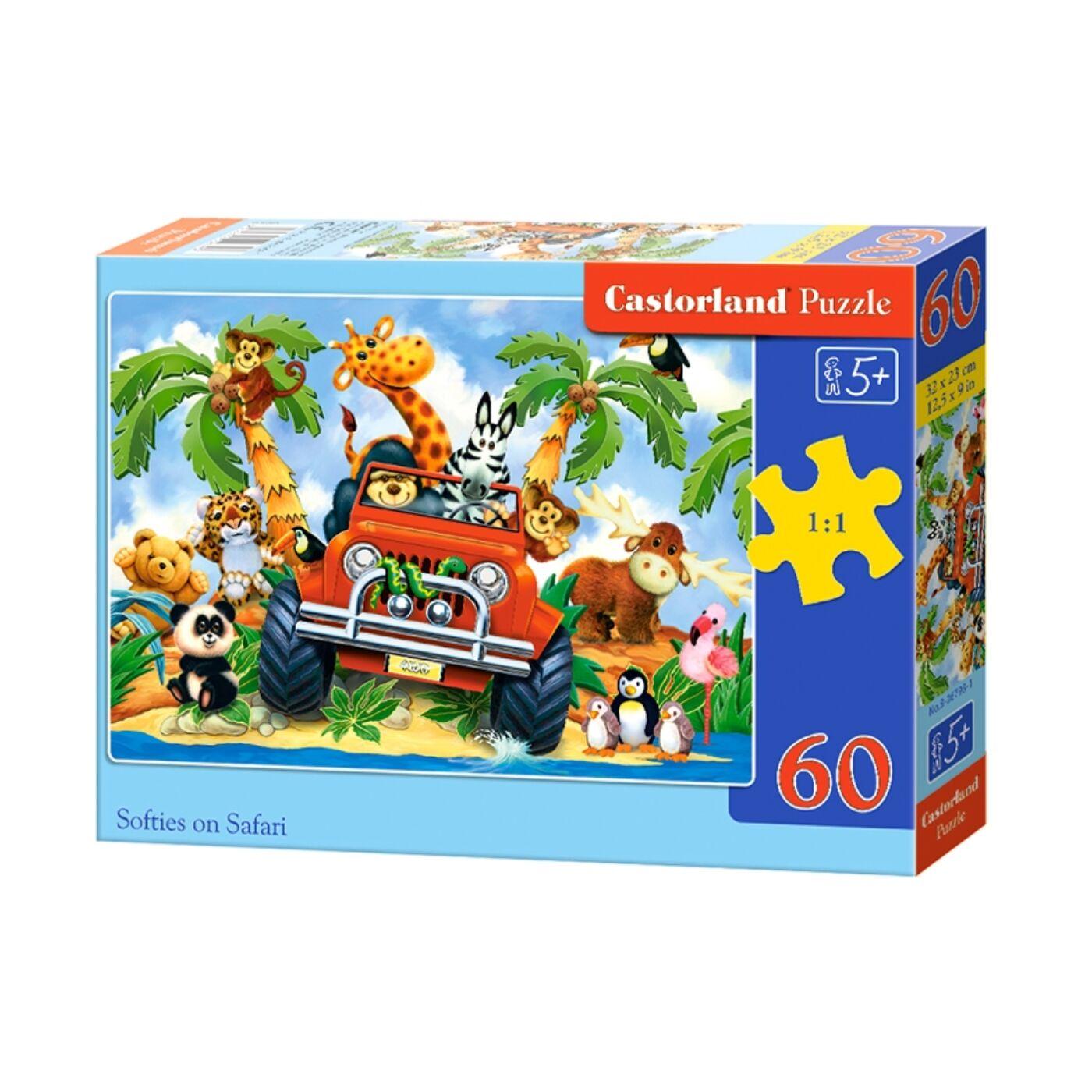 60 db-os puzzle - Szafari