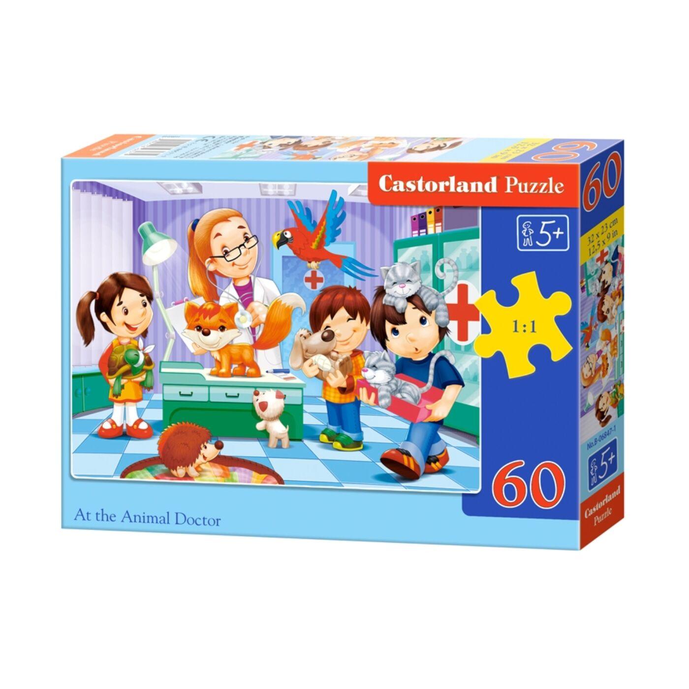 60 db-os puzzle - Az állatorvosnál