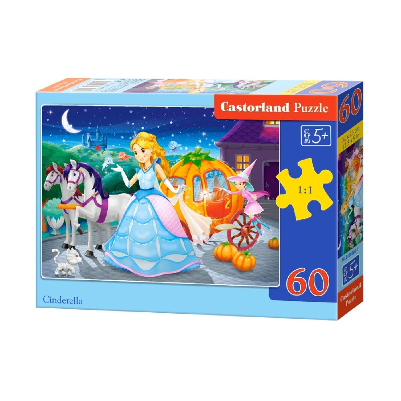 60 db-os puzzle - Hamupipőke