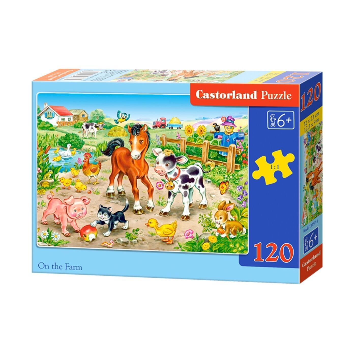 120 db-os Castorland Puzzle - A farmon