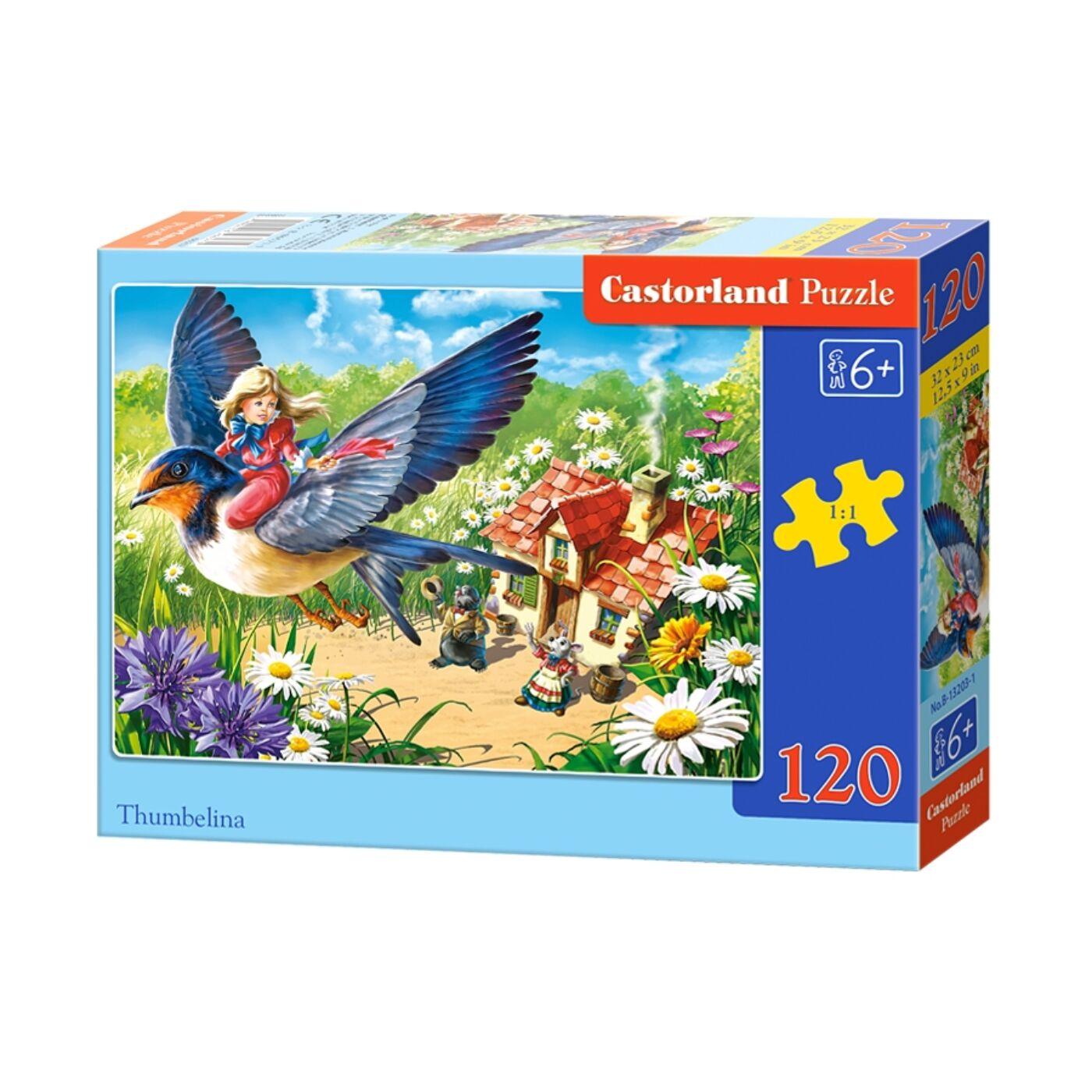 120 db-os Castorland Puzzle - Pöttöm Panna