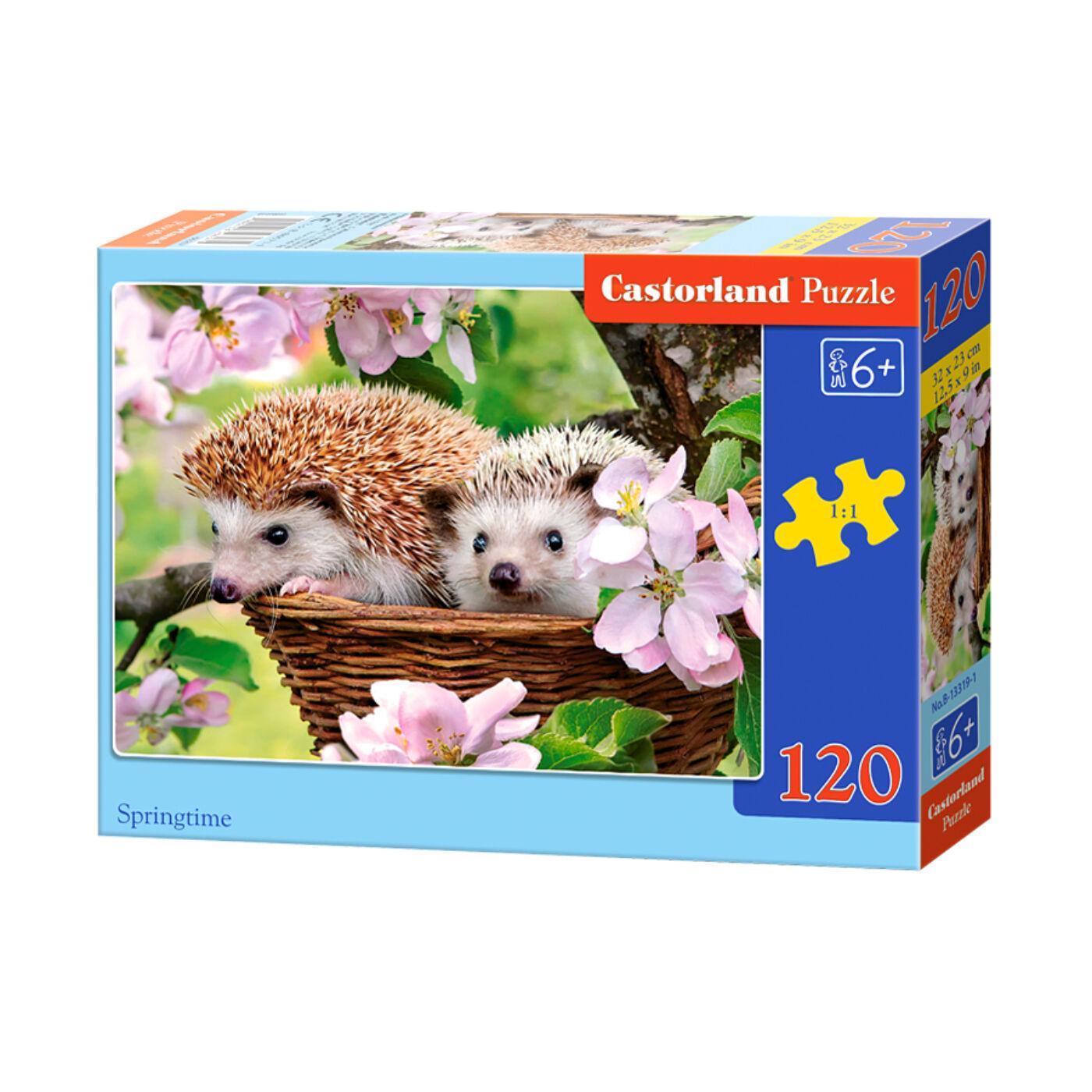 120 db-os Castorland Puzzle - Tavaszidő