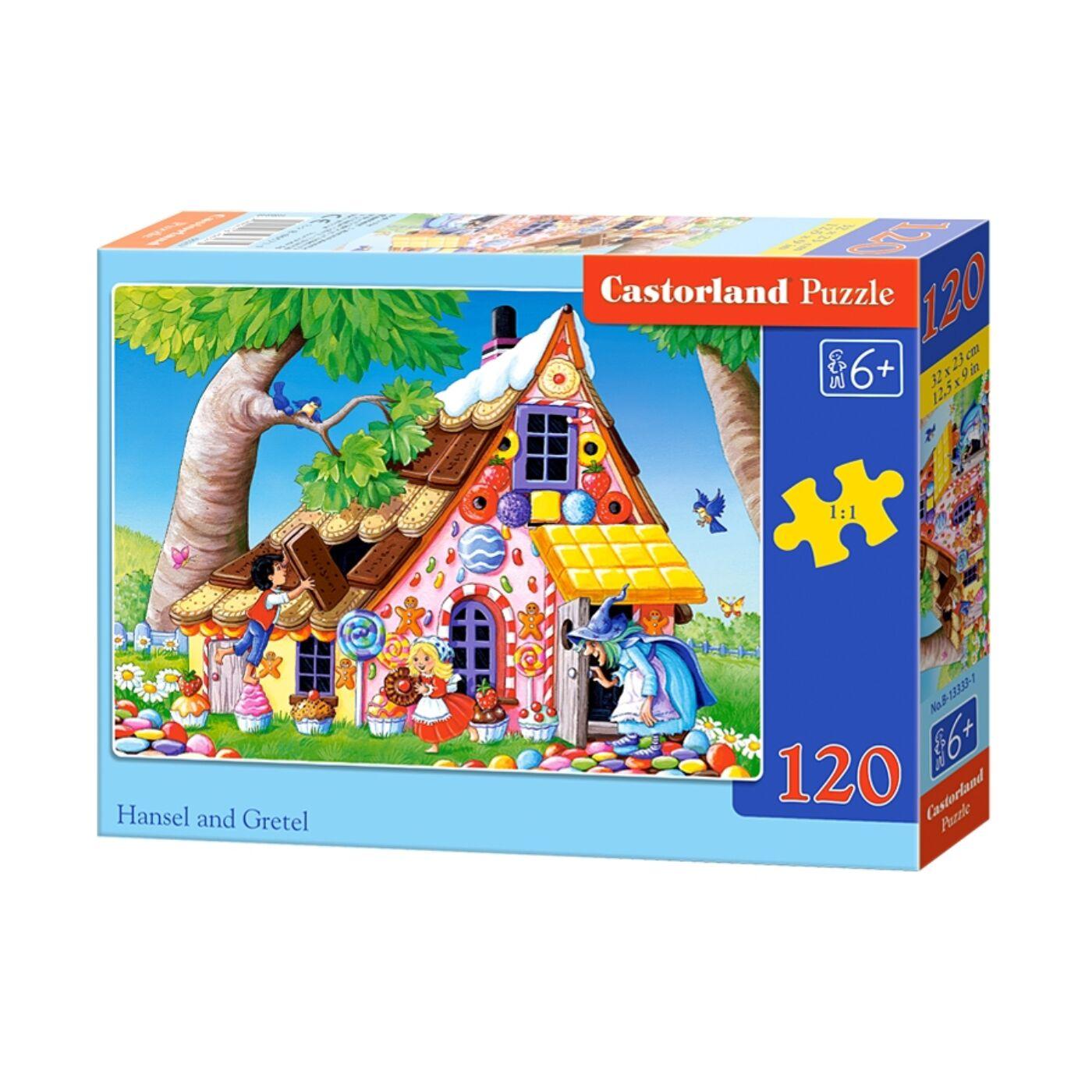 120 db-os Castorland Puzzle - Jancsi és Juliska
