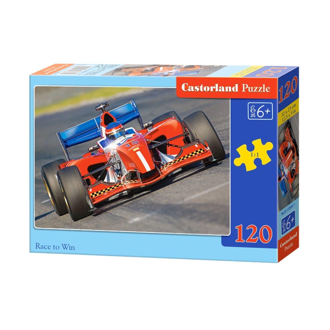 120 db-os Castorland puzzle - Verseny
