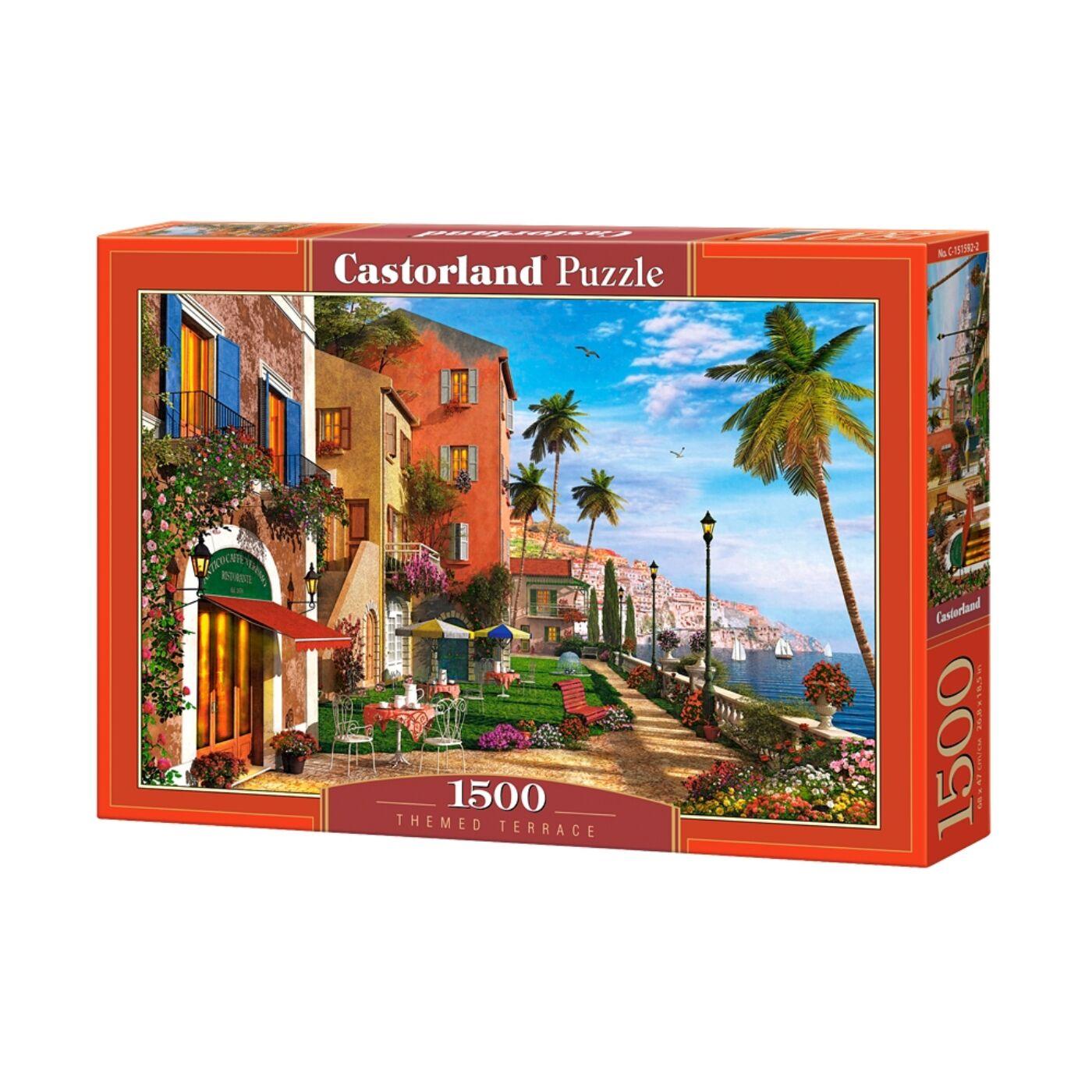 1500 db-os Castorland kirakó - Egzotikus terasz
