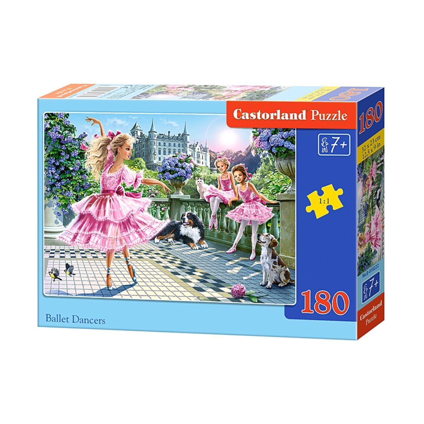 180 db-os Castorland puzzle - Balett táncosok