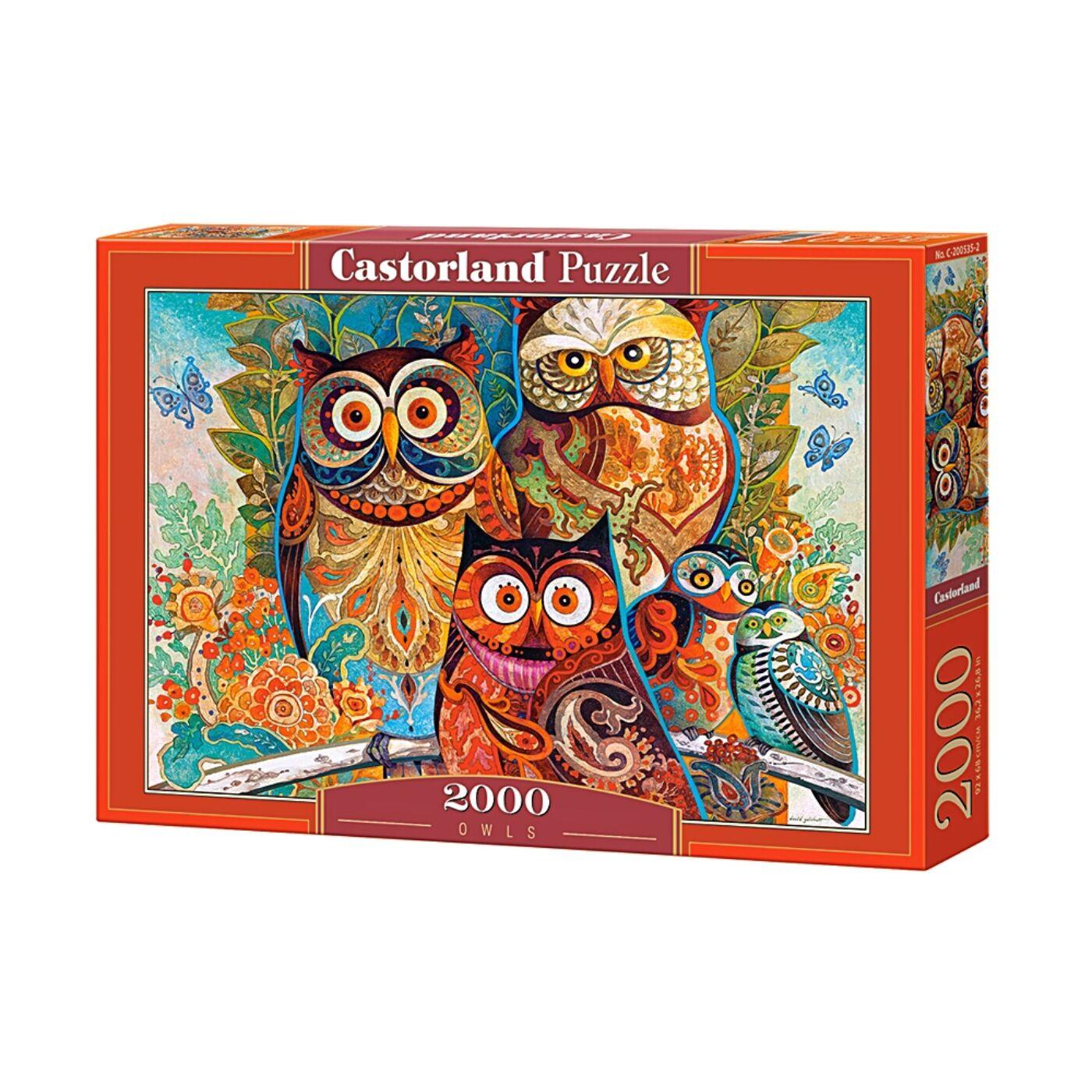 2000 db-os Puzzle - Baglyok