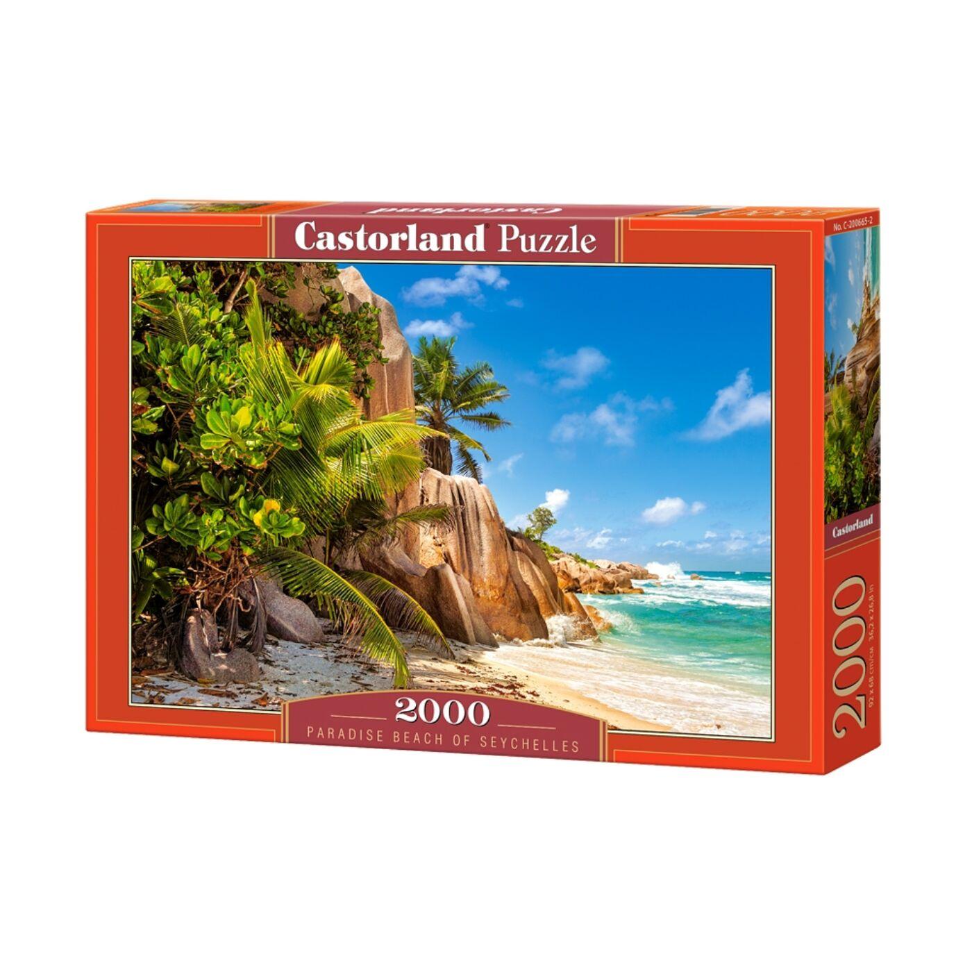 2000 db-os Puzzle -Paradicsomi sziget Seychellen