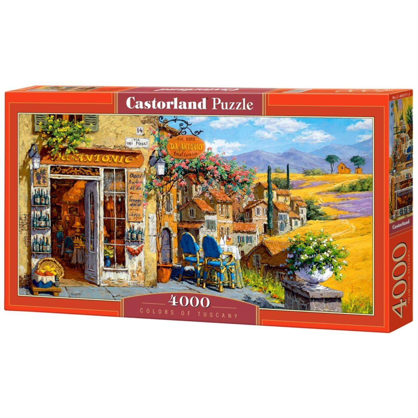 4000 db-os puzzle - Toszkána színei