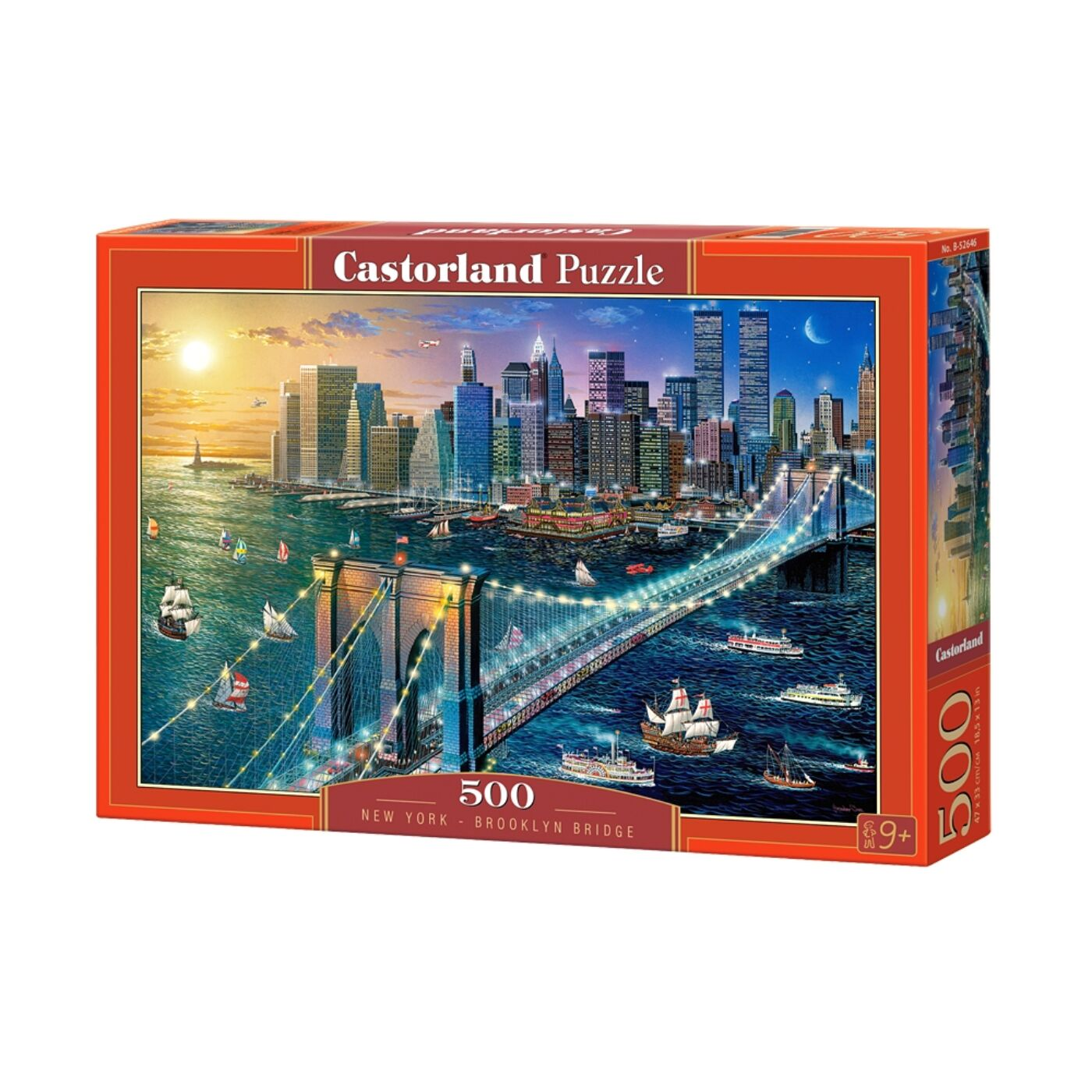 500 db-os puzzle - New York-Brooklyn híd