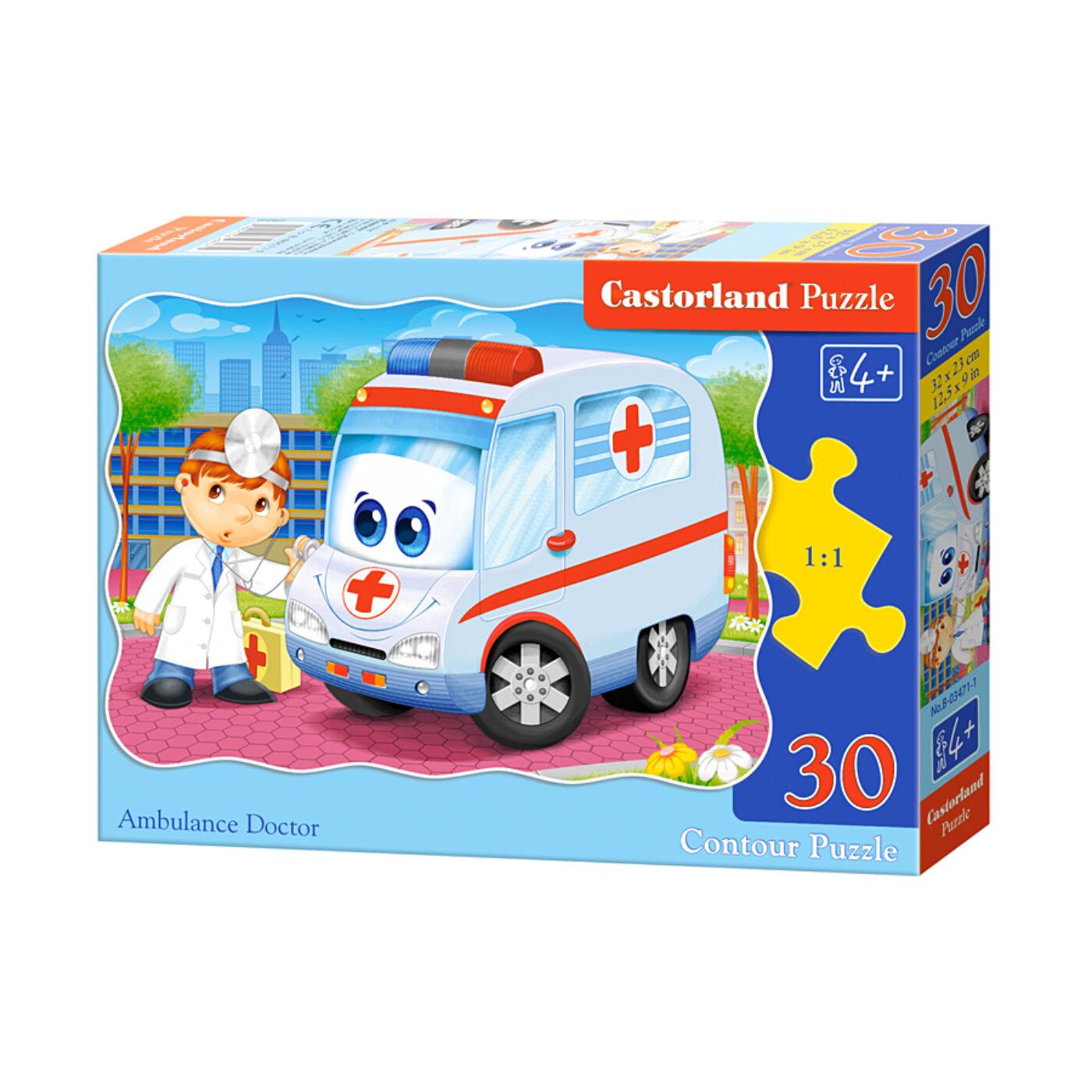 30 db-os puzzle - Ambuláns doktor