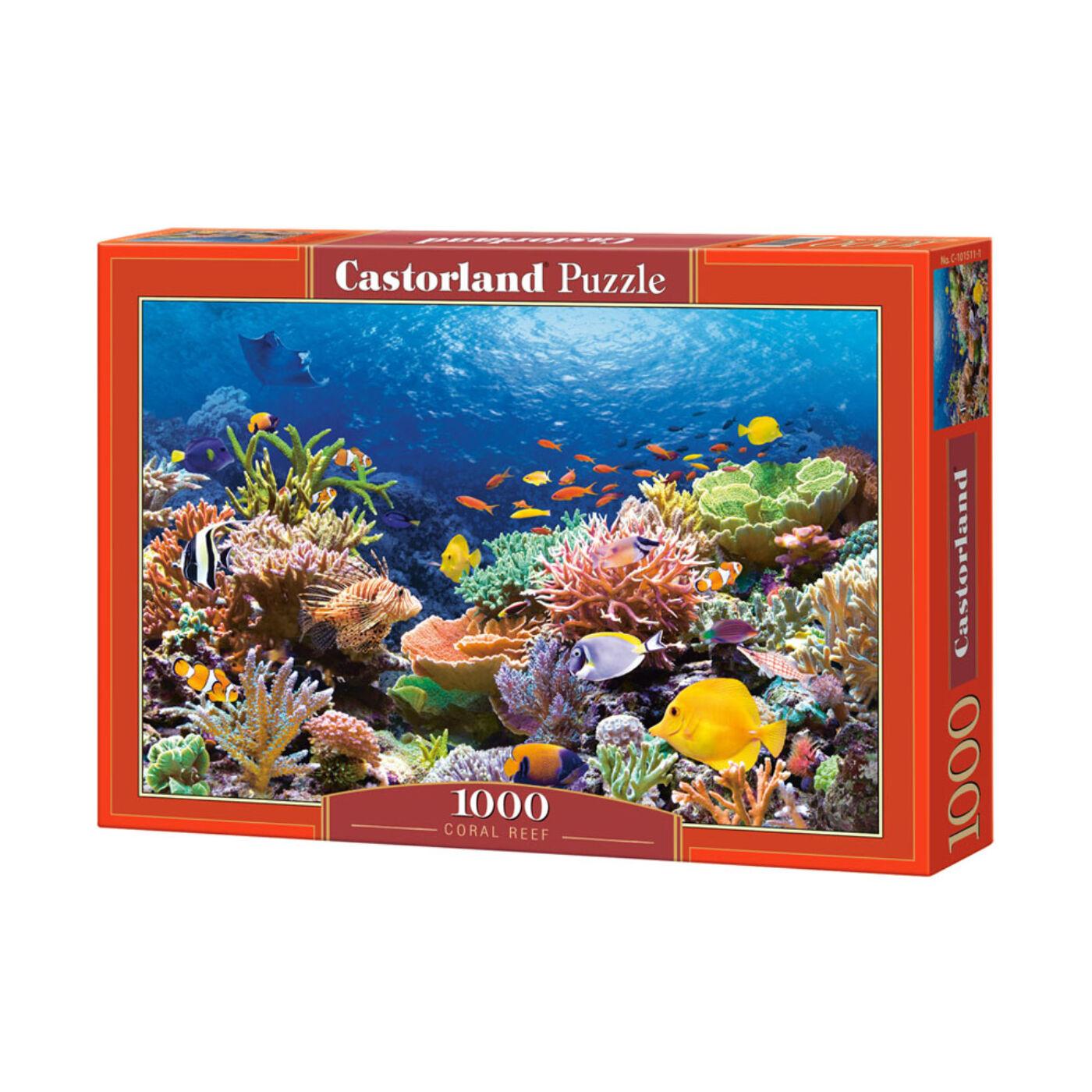 1000 db-os Castorland Puzzle - Halak a korrallok között