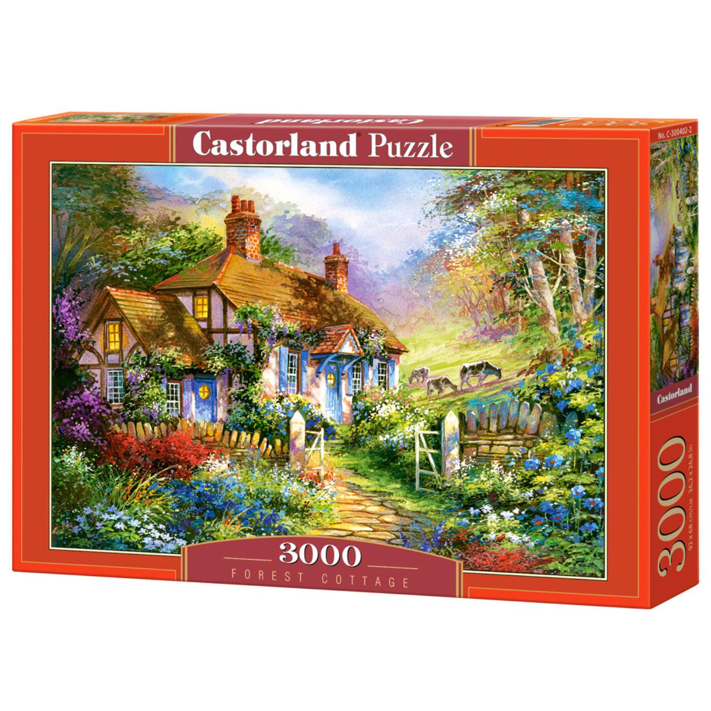 3000 db-os puzzle - Erdei lak