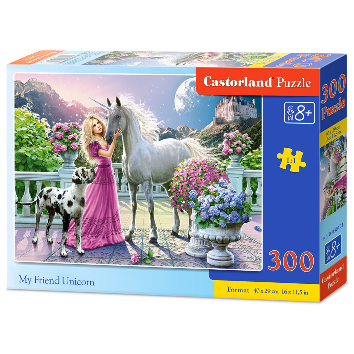 300 db-os puzzle - Unikornis barát