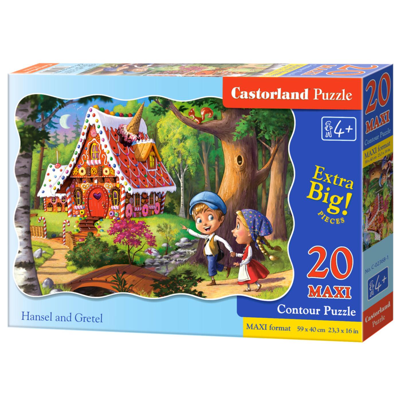 20 db-os maxi puzzle - Jancsi és Juliska
