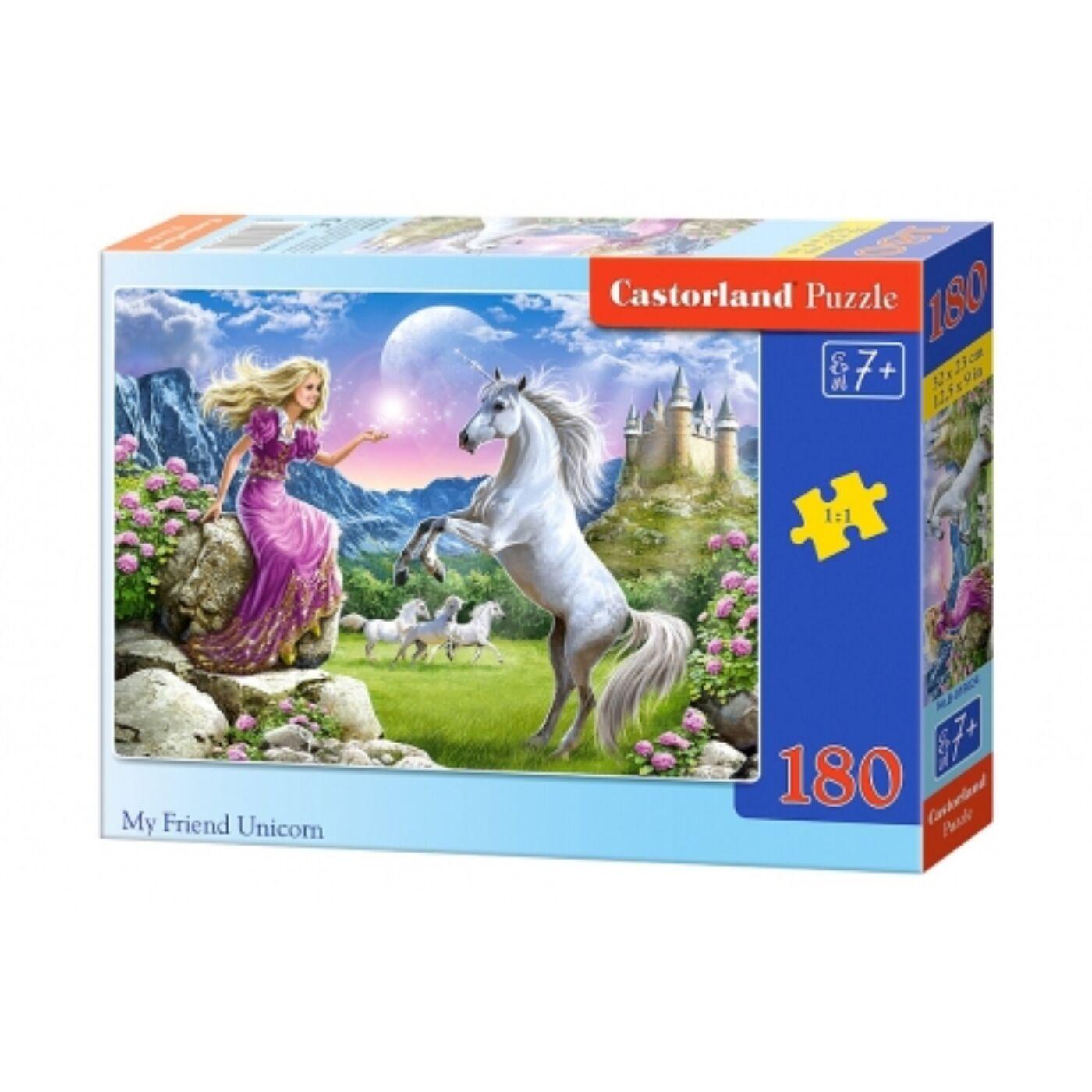 180 db-os Castorland puzzle - Barátom, az unikornis