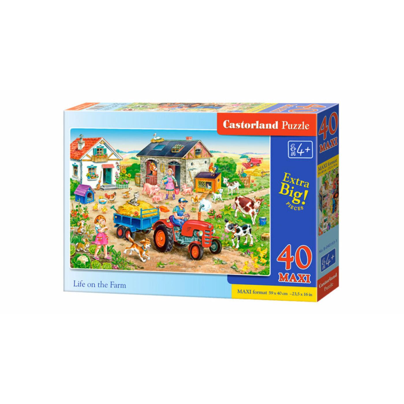 40 db-os Maxi puzzle – Élet a farmon
