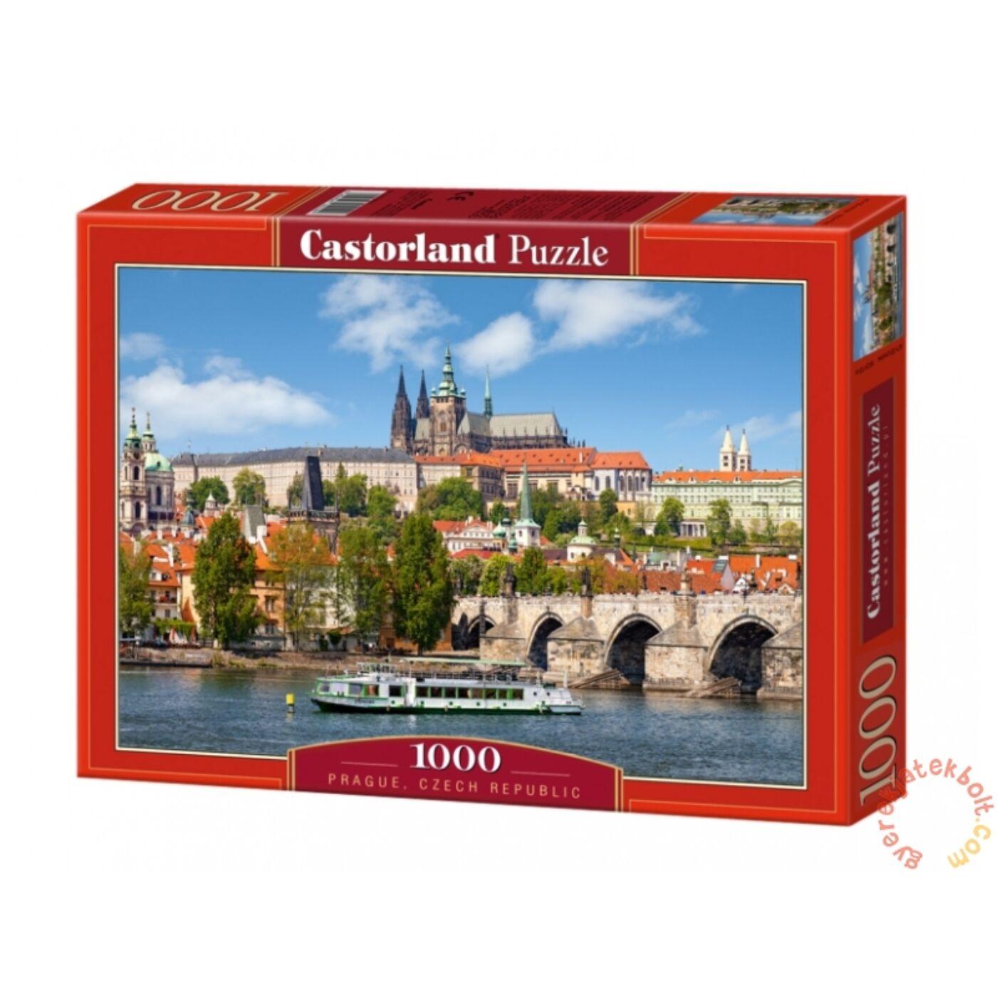 1000 db-os Castorland puzzle – Prága, Csehország